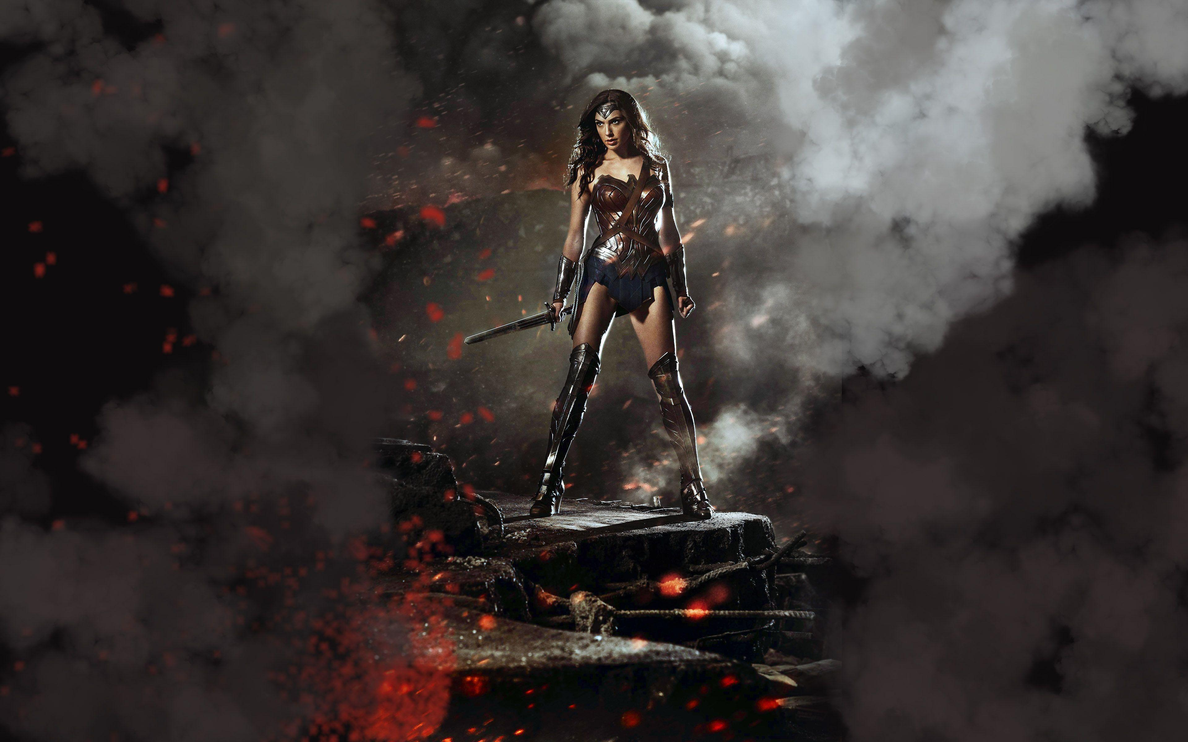 HDWP-47: Wonder Woman Collection of Widescreen Wallpapers