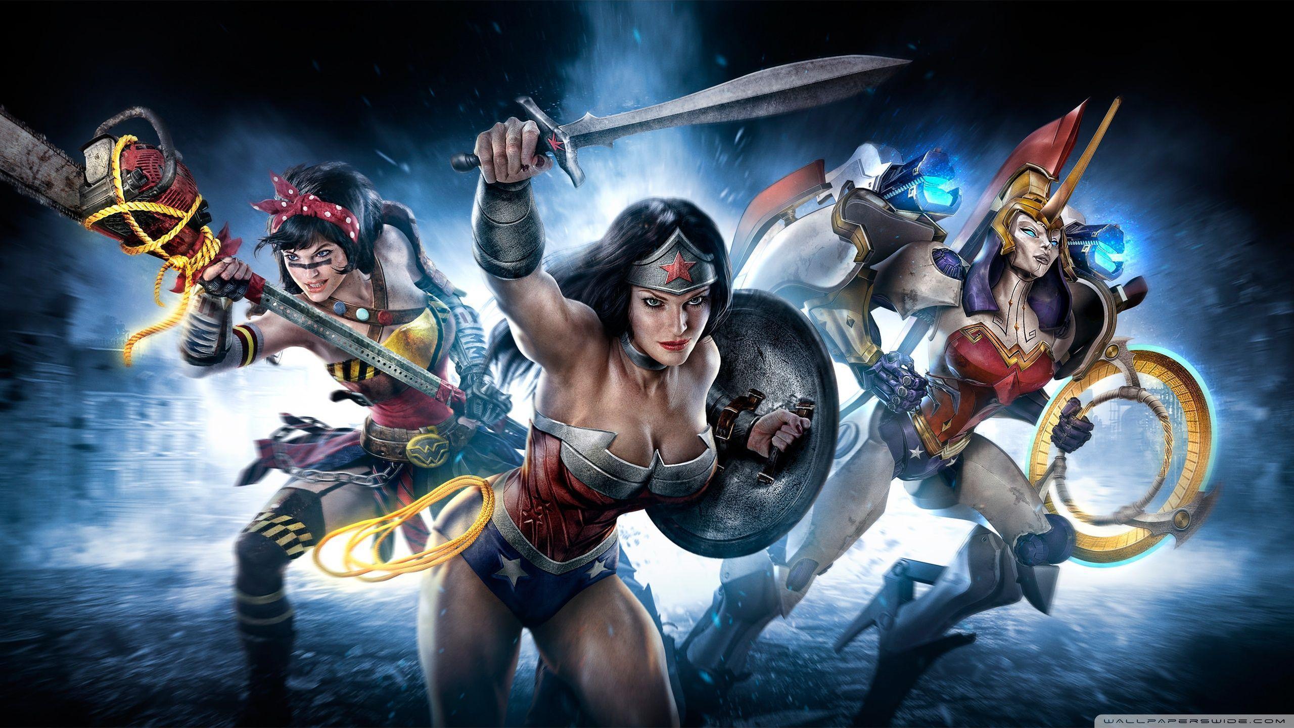 Wonder Woman HD desktop wallpaper : Dual Monitor
