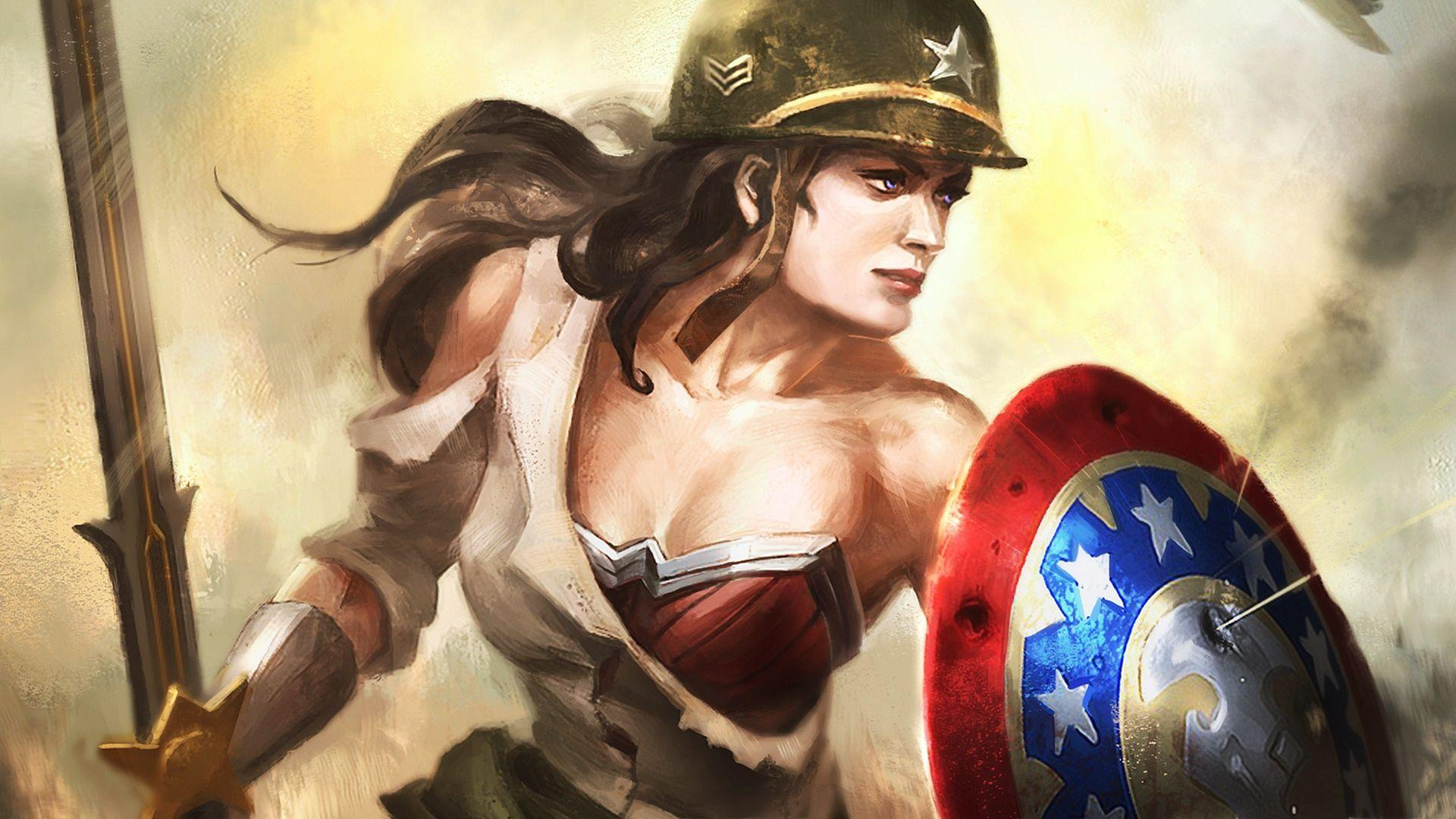 Wonder Woman wallpaper – wallpaper free download