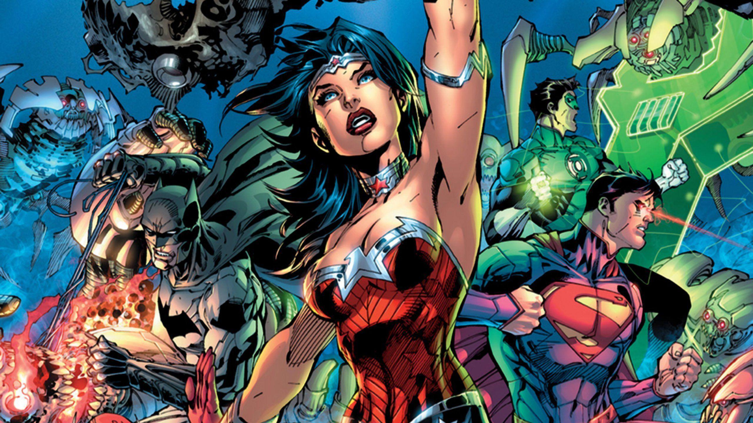 Batman Wonder Woman Wallpaper - WallpaperSafari