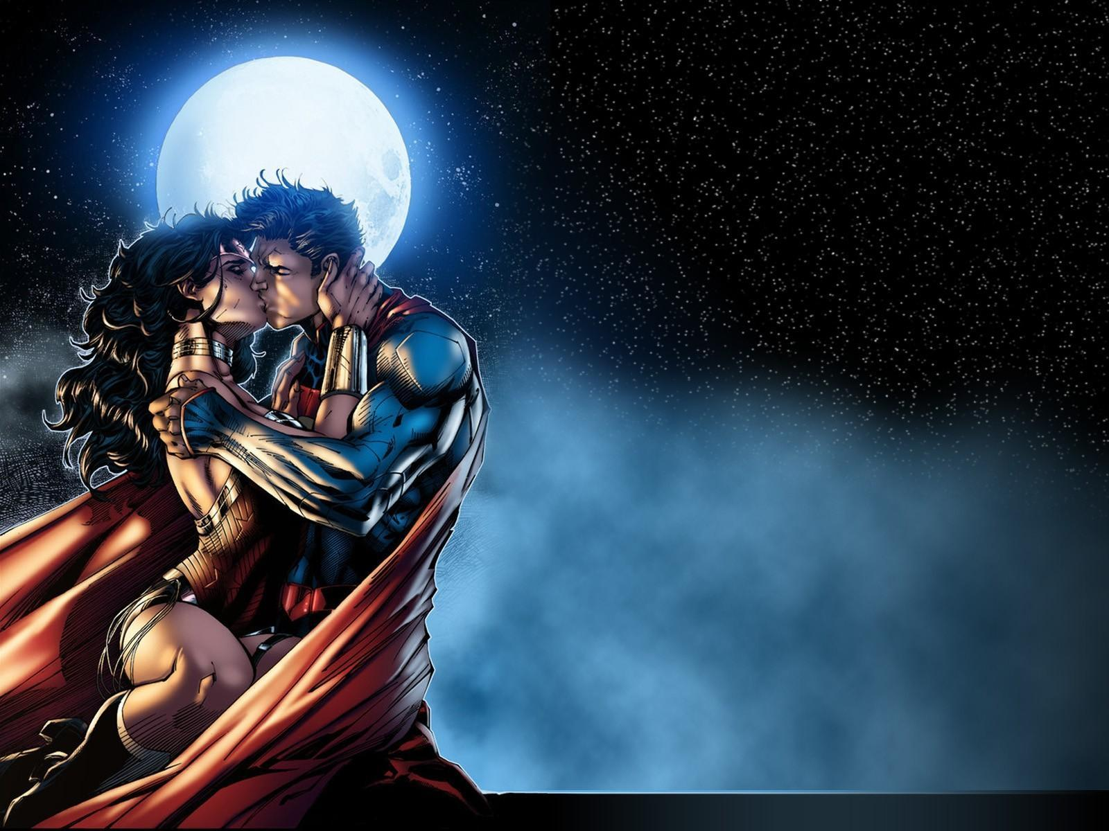 Superman Wonder Woman Wallpaper - WallpaperSafari