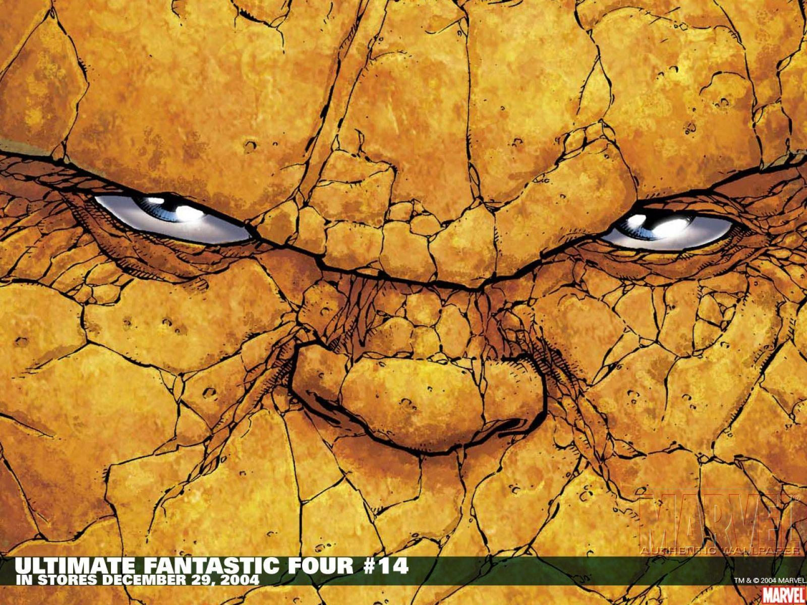 Ben Grimm the Thing Wallpaper at Wallpaperist