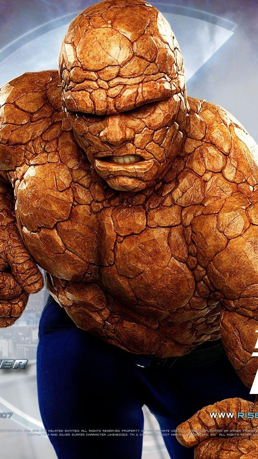 Download Wallpaper 1080x1920 Fantastic 4, The thing, Ben grimm ...