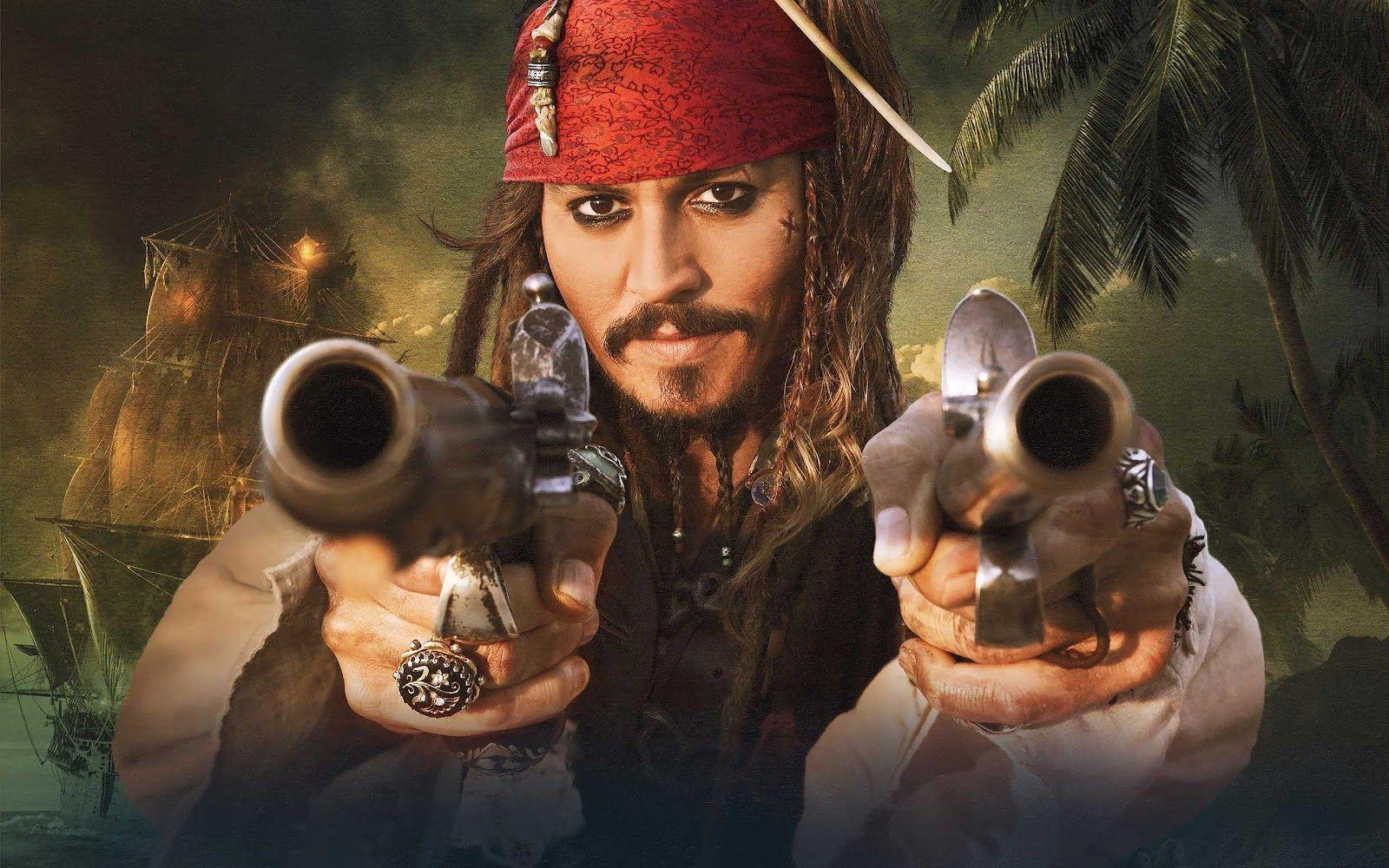 99walls johnny depp in pirates of the caribbean wallpapers