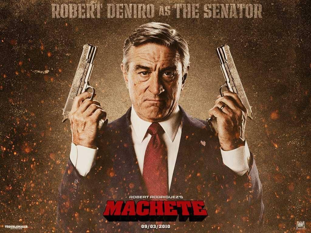 Robert De Niro - Machete wallpaper - Action Movies Wallpaper