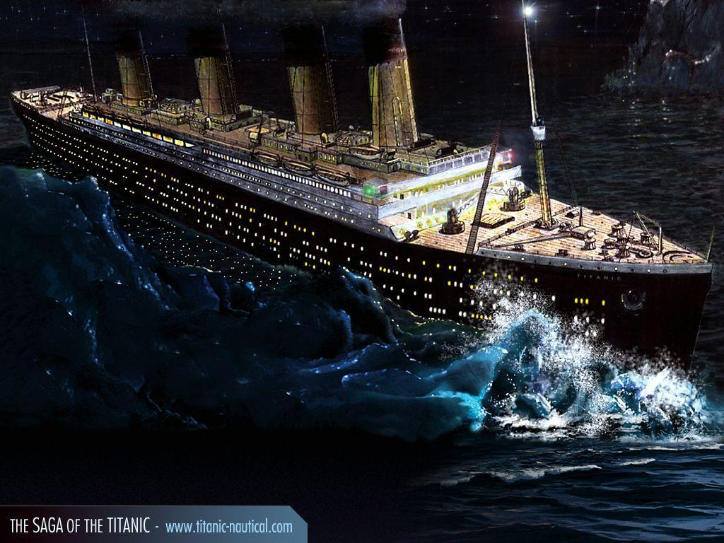 Wallpaper Titanic Ship - WallpaperSafari