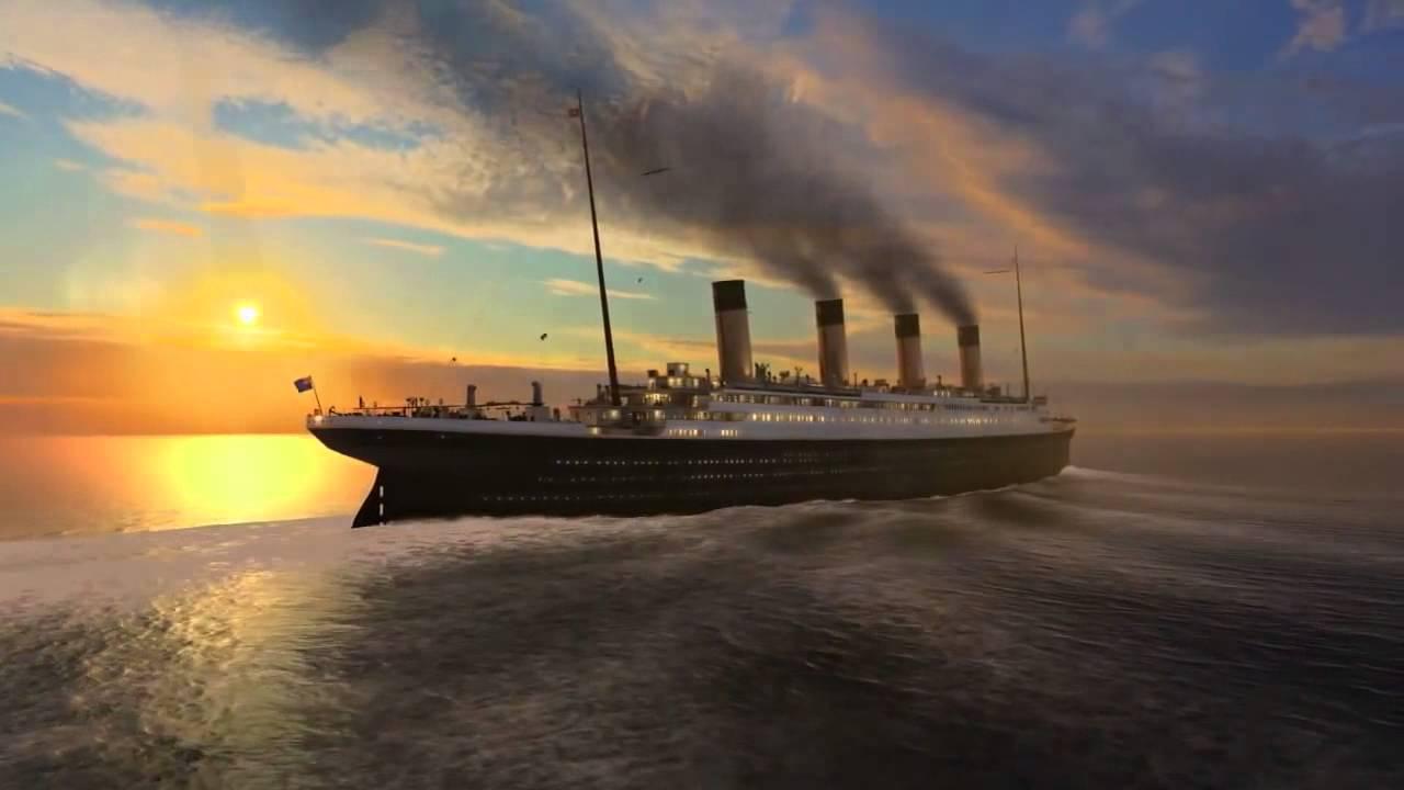 Titanic live wallpaper - YouTube