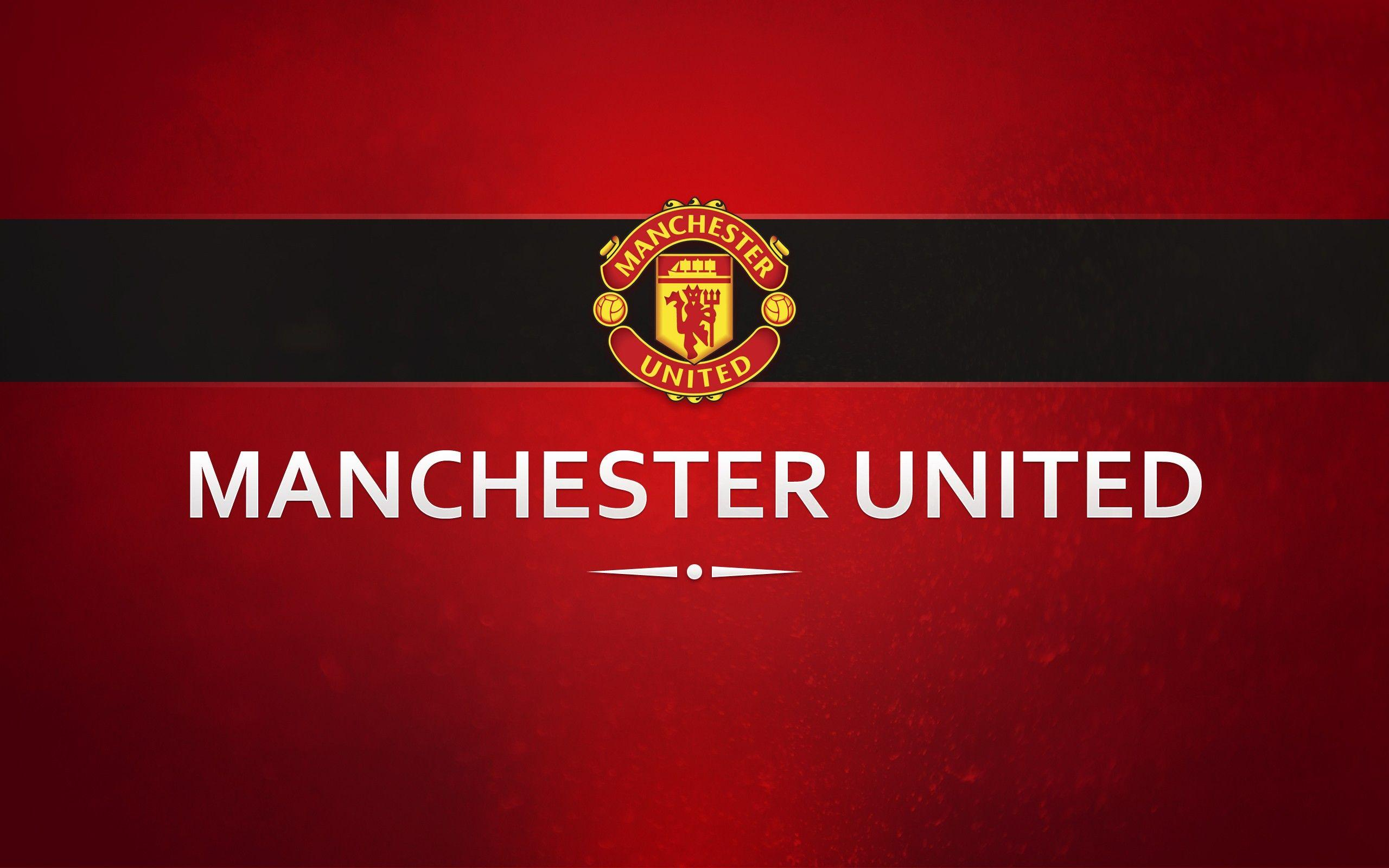 Manchester United, Soccer Clubs, Premier League, Typography
