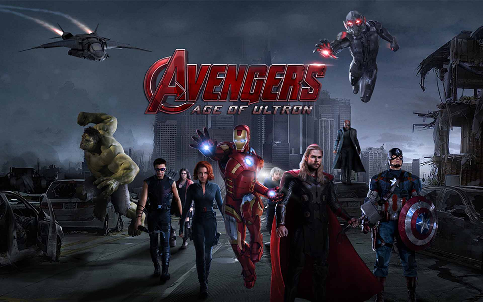 Avengers age of ultron team   movie wallpapers.