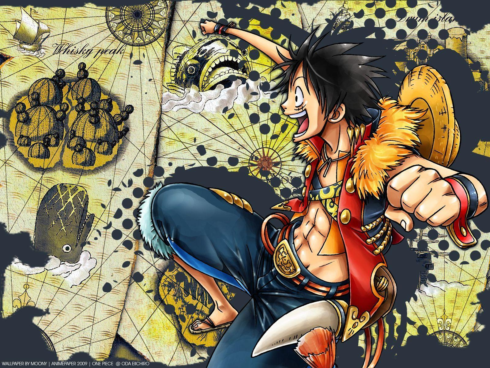 Monkey D Luffy Wallpapers Wallpaper Cave