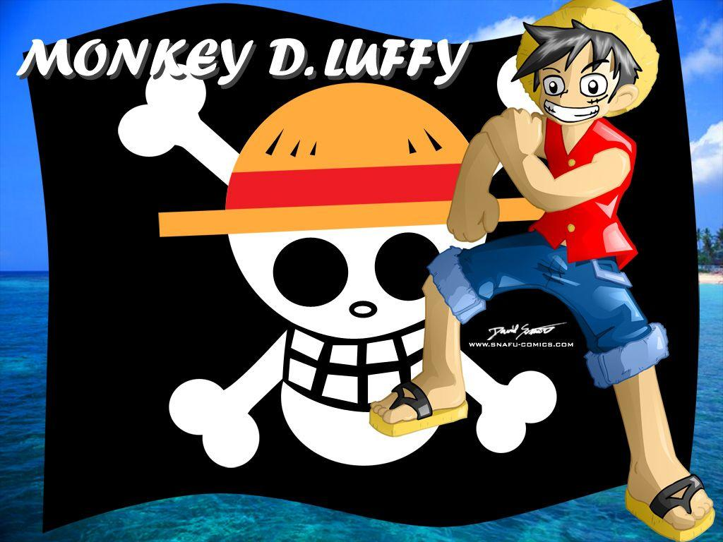 Monkey D. Luffy Wallpapers by SnafuDave