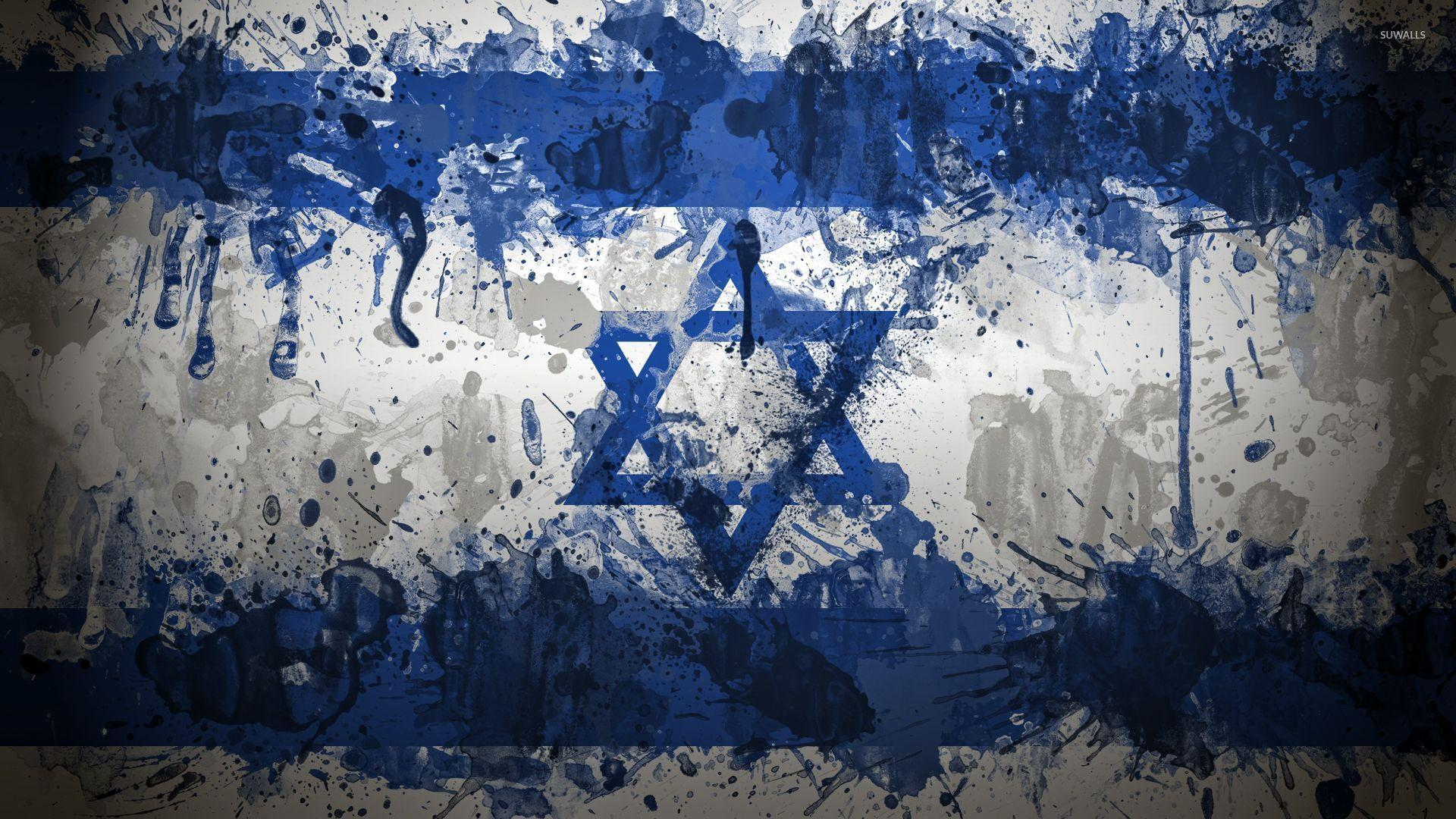 обои для рабочего стола флаг израиля № 389450 бесплатно