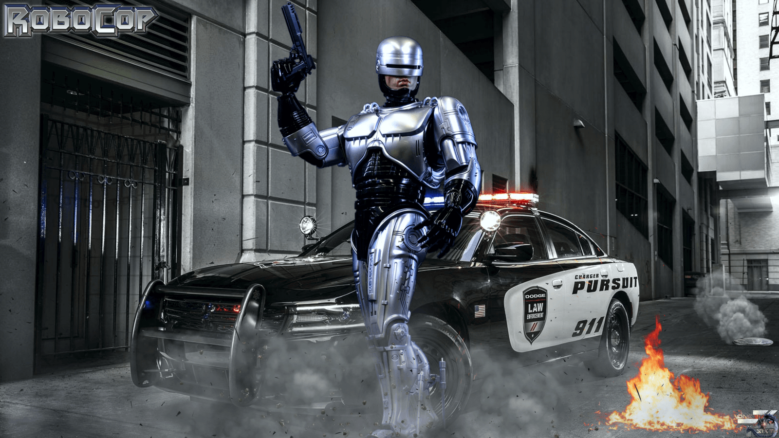 Robocop Movie Wallpapers [HD Facebook Timeline Covers Desktop