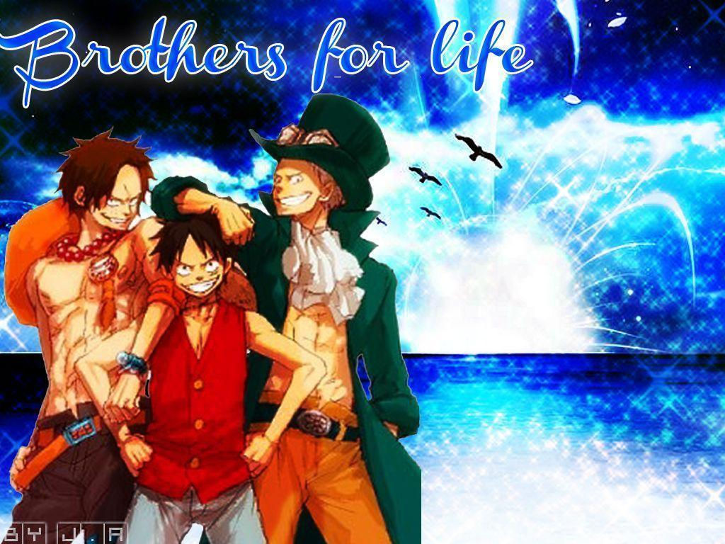 Luffy Ace and Sabo Wallpapers