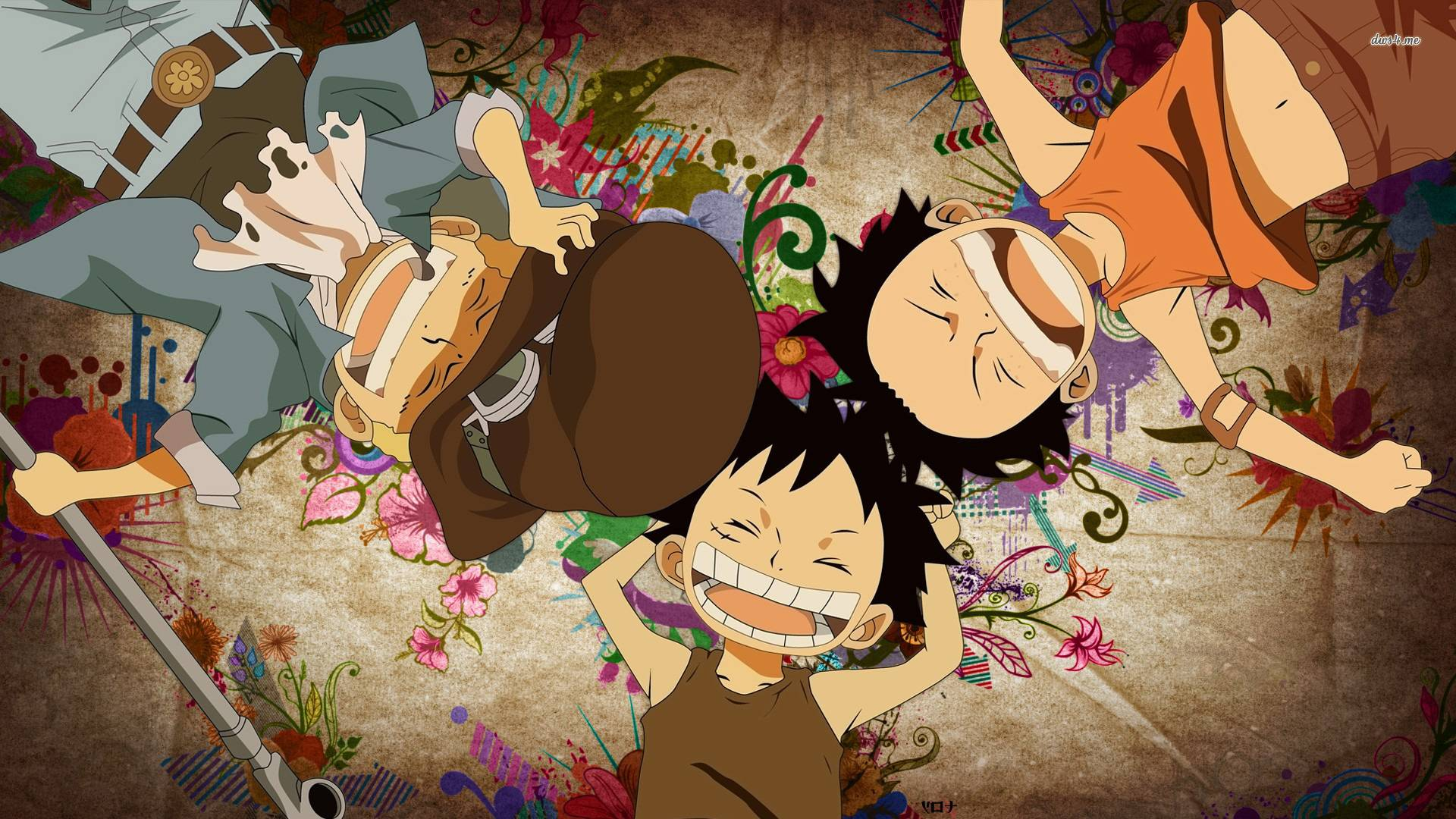 Luffy, Ace and Sabo
