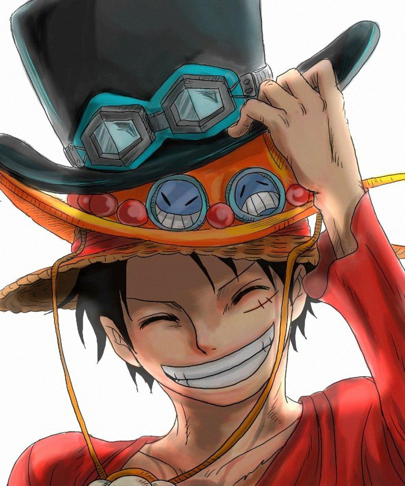 One Piece, Ace, Monkey D Luffy, Sabo :: Wallpapers