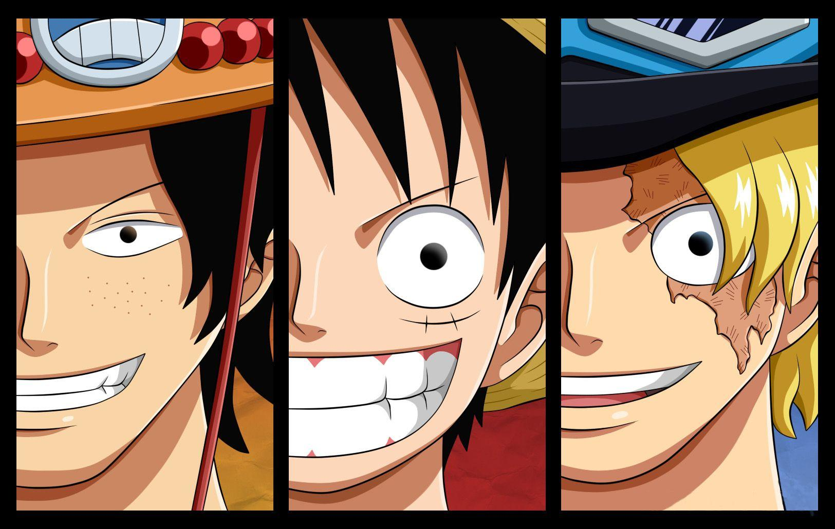 Luffy, Sabo, Ace Wallpapers and Backgrounds