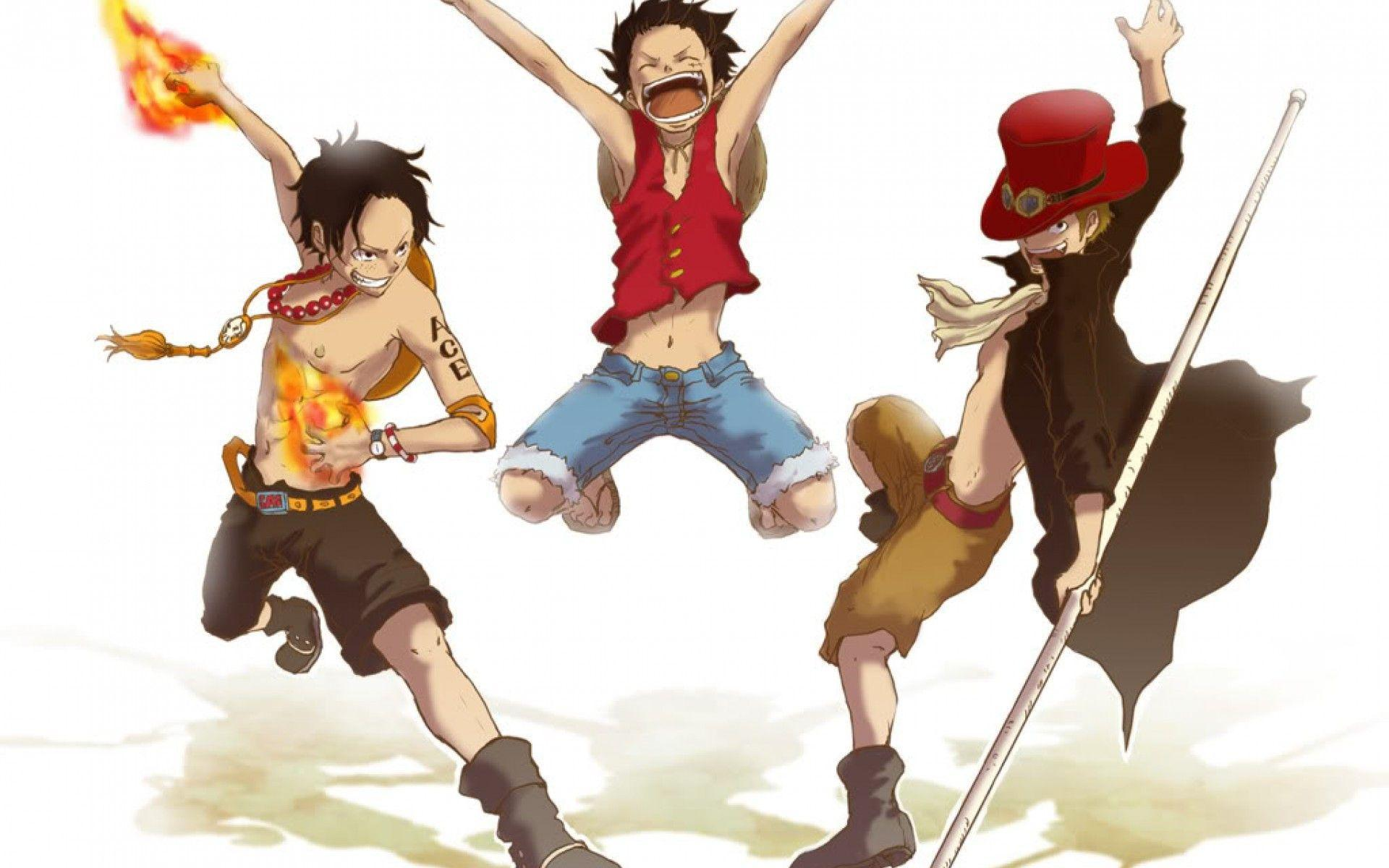 One Piece Art Sabo Portgas D.Ace Luffy wallpapers – wallpapers free