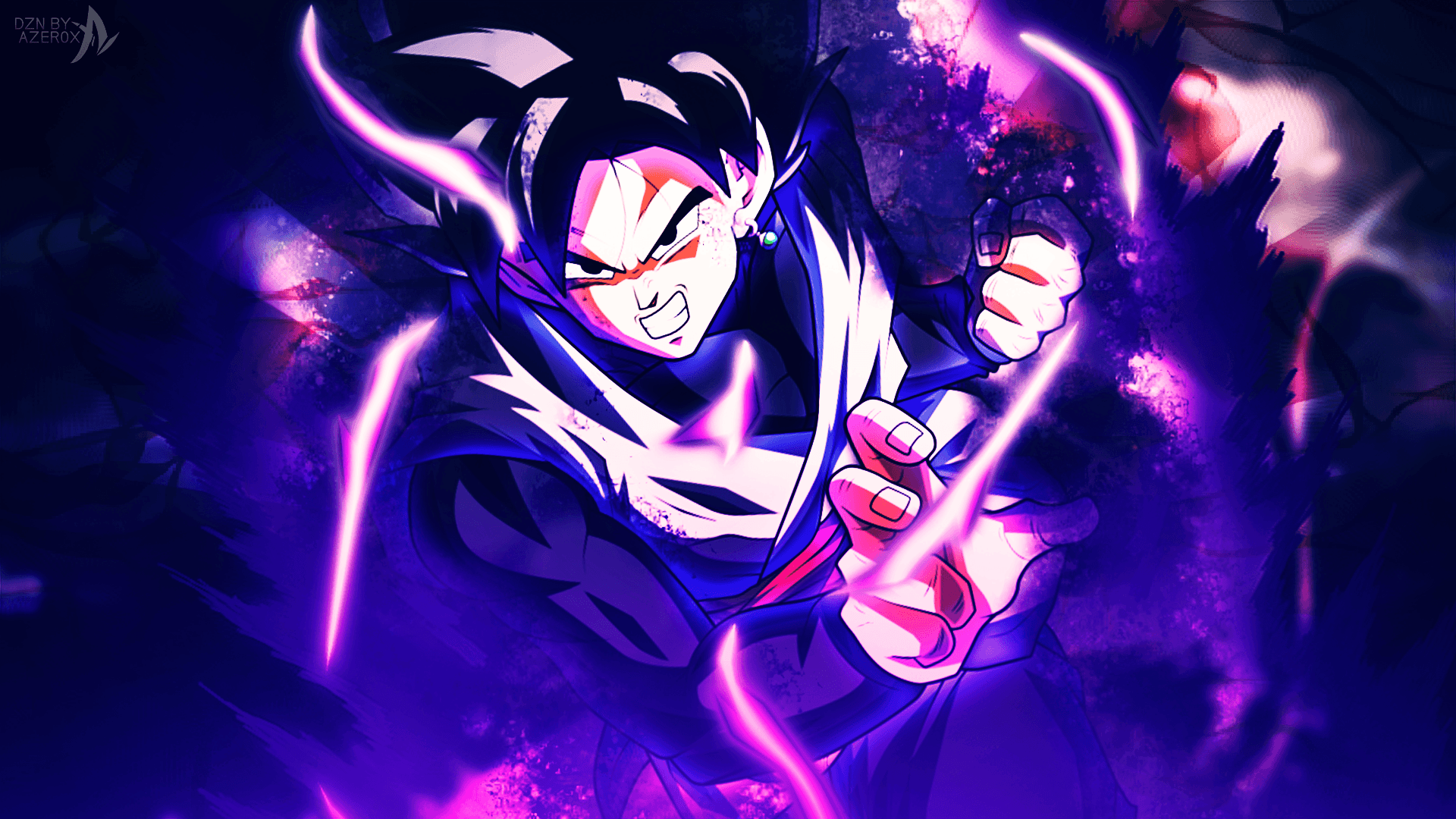 Goku Black Wallpapers Wallpaper Cave