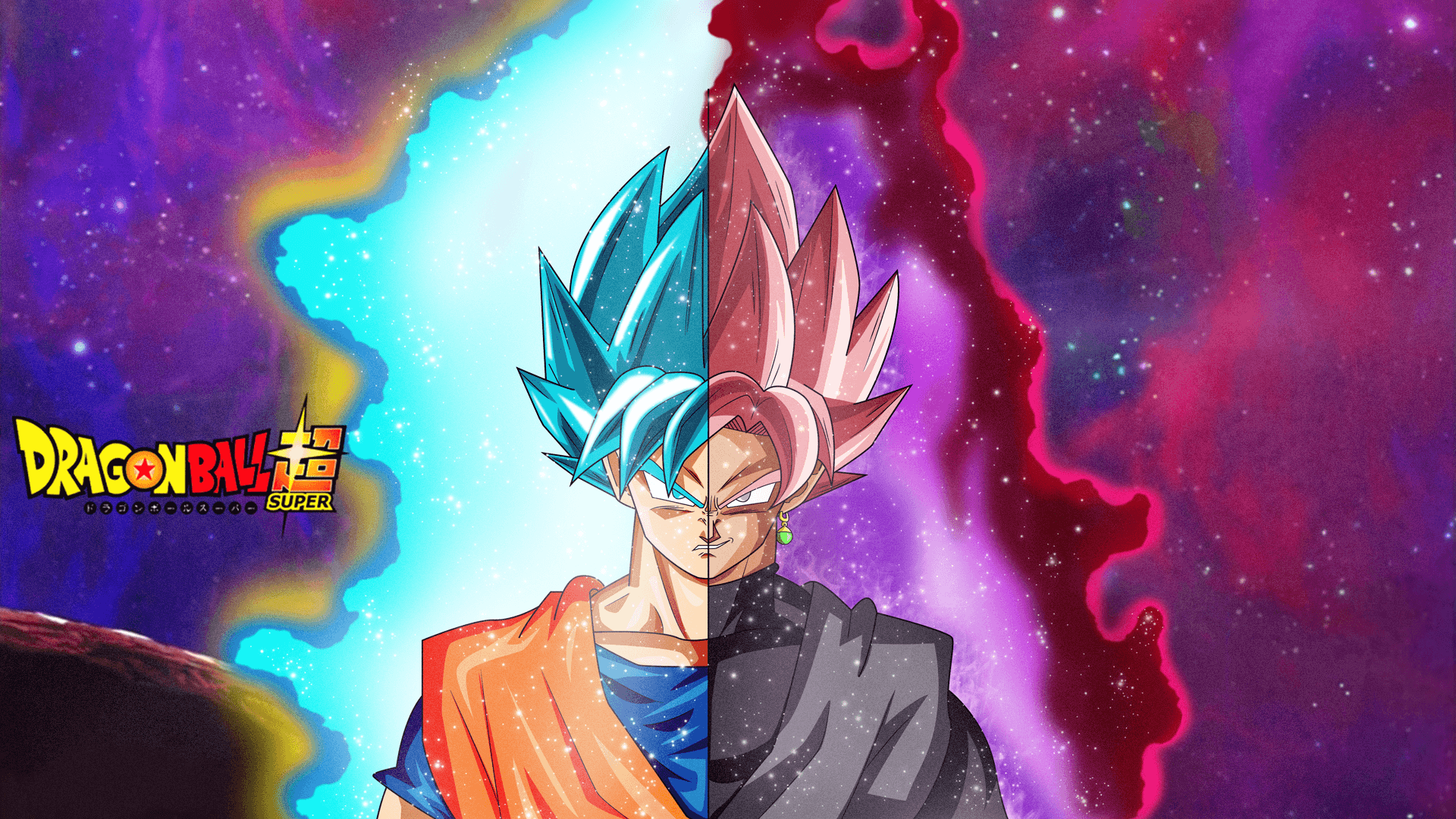 Goku Vs Black Wallpapers Wallpaper Cave