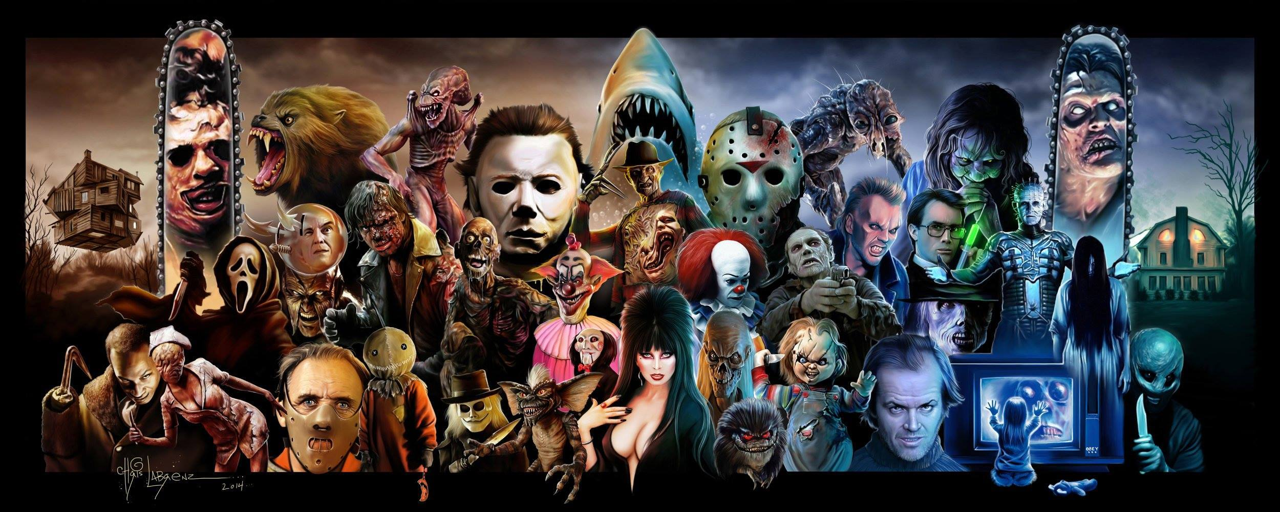Horror Movies Wallpapers - Wallpaper Cave
