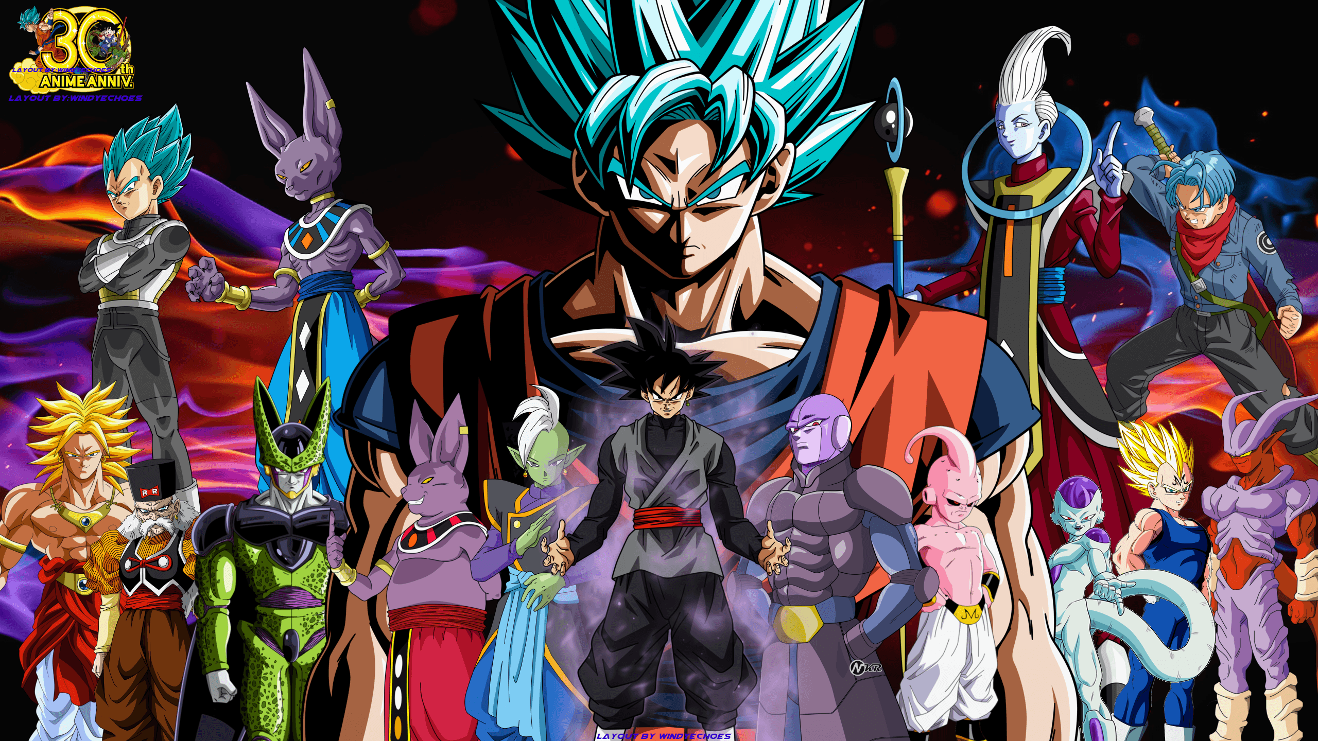 Dbz Dual Screen Wallpapers: Dragon Ball Super Wallpapers