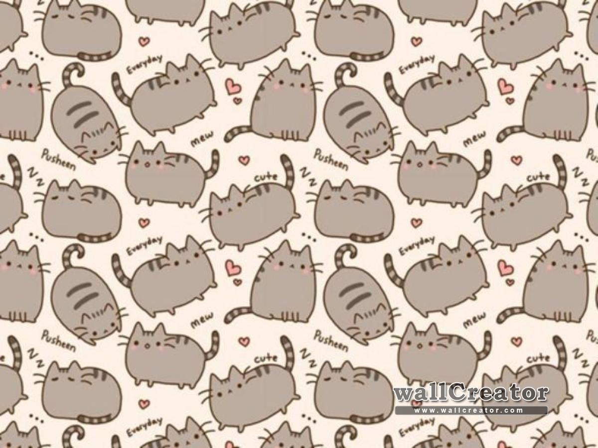 Pusheen The Cat Ipad Wallpaper