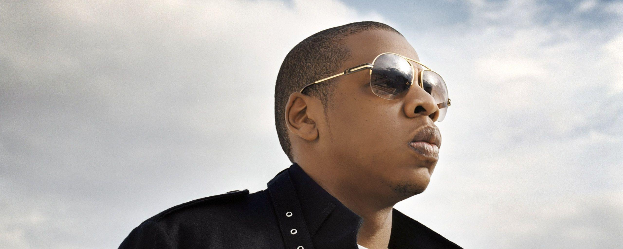 Download Wallpaper 2560x1024 Jay-z, Sunglasses, Sky, View, Singer ...