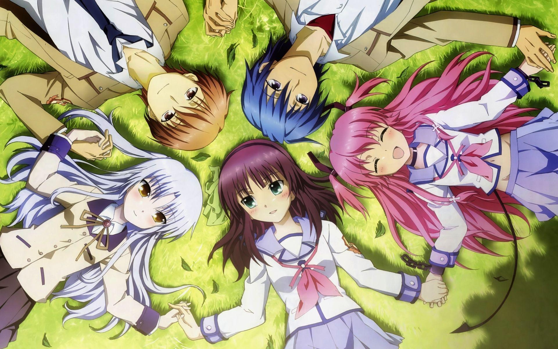Angel Beats Wallpapers Wallpaper Cave