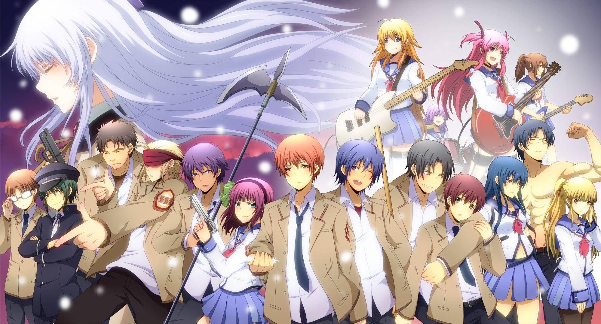 Angel Beats Anime Hd Wallpapers Wallpaper Cave