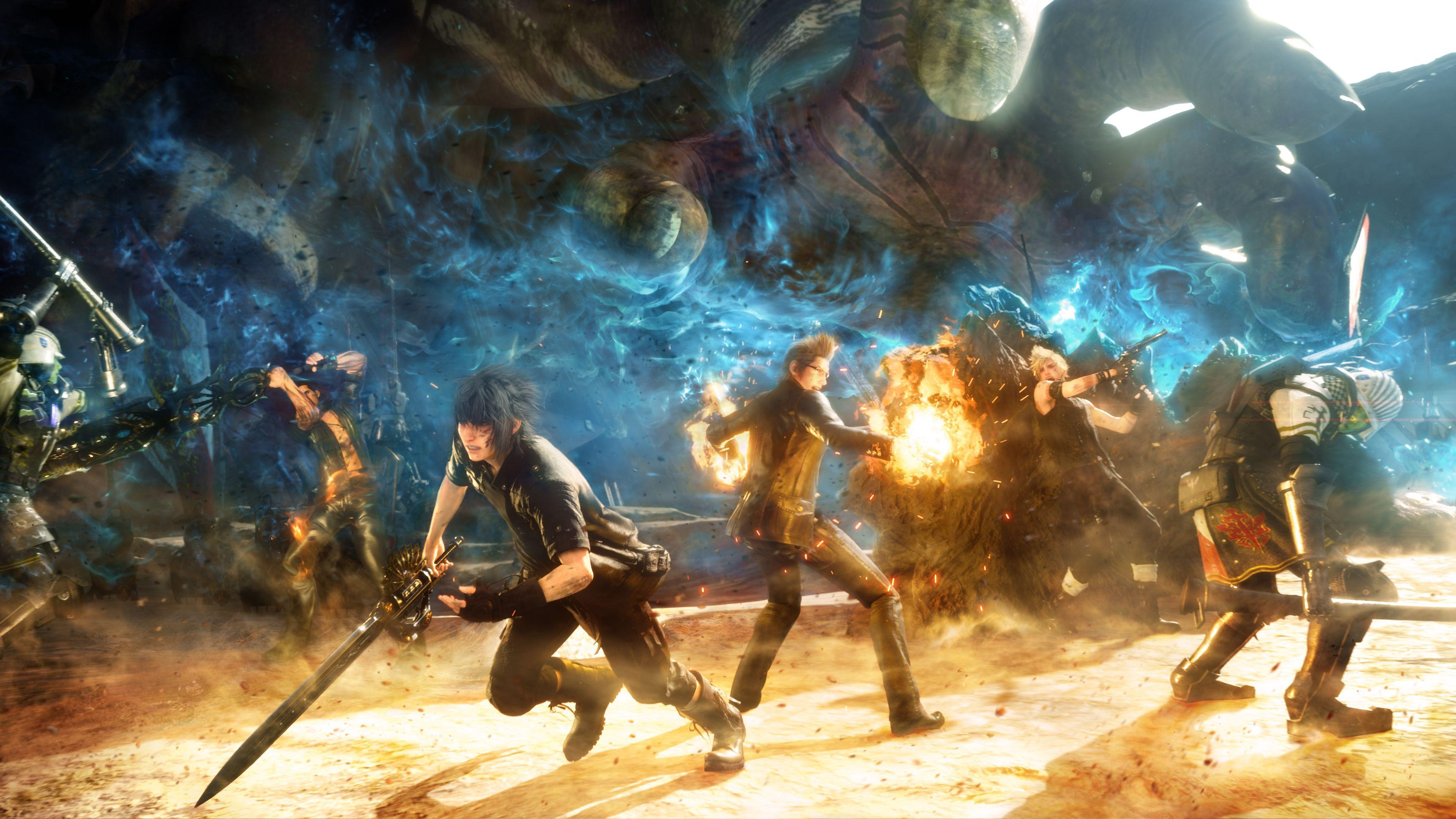 Final Fantasy Xv Wallpapers In Ultra Hd: Final Fantasy XV Wallpapers