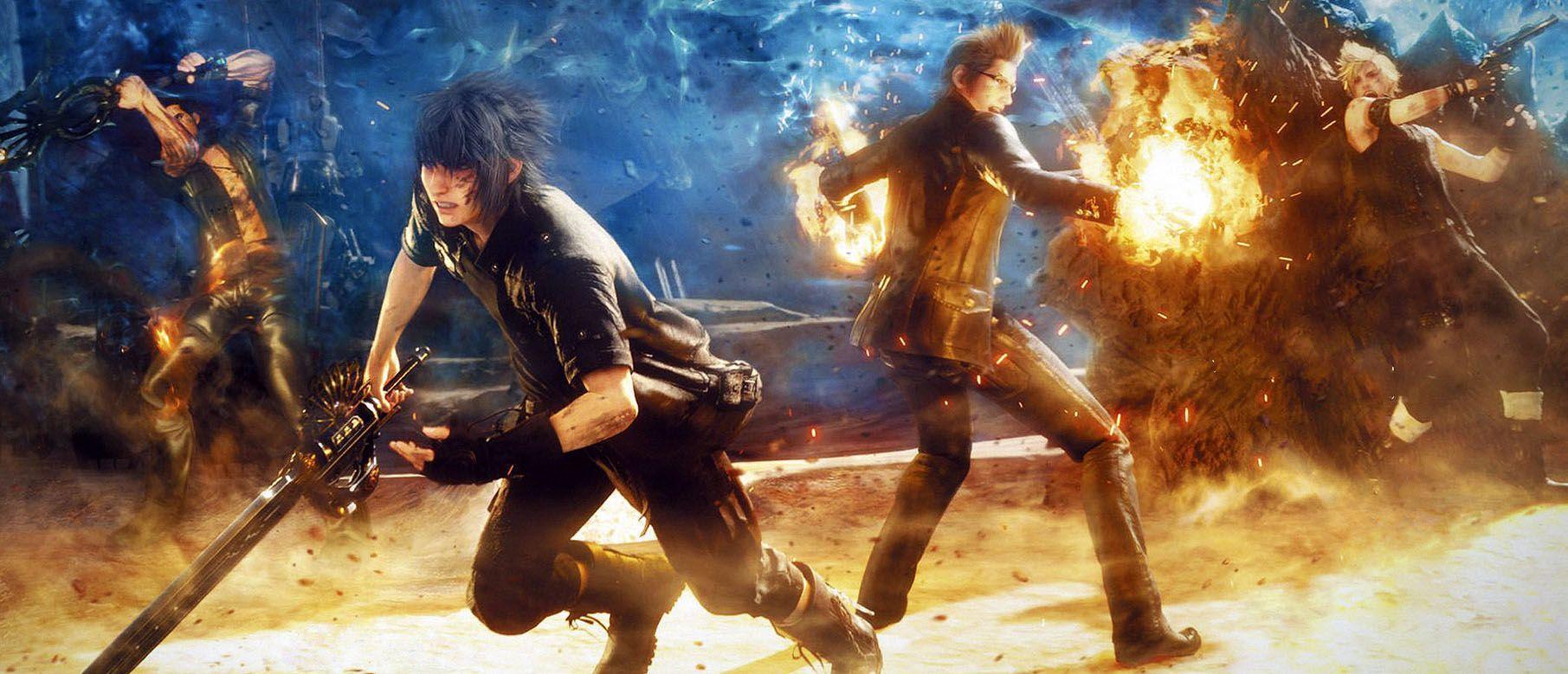 Final Fantasy XV Wallpapers - Wallpaper Cave