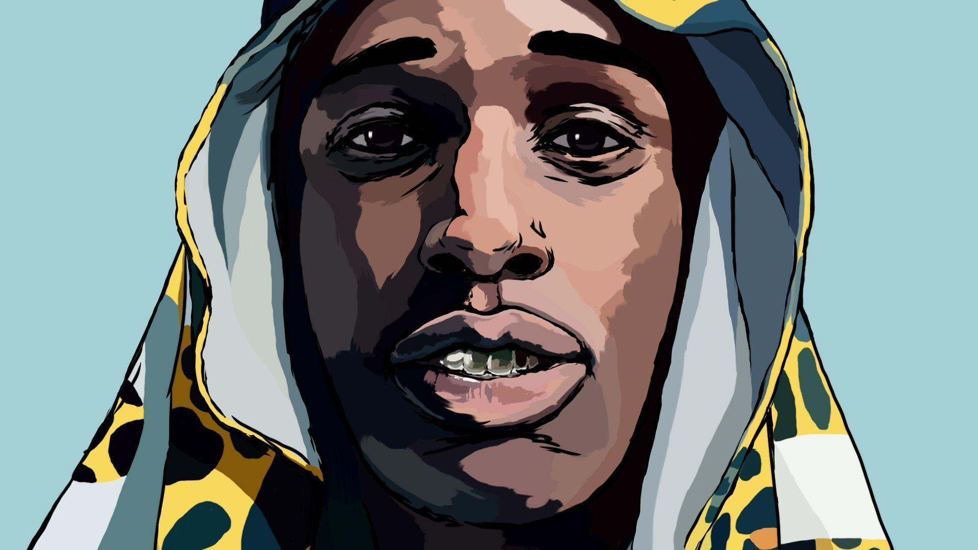 asap rocky wallpaper android
