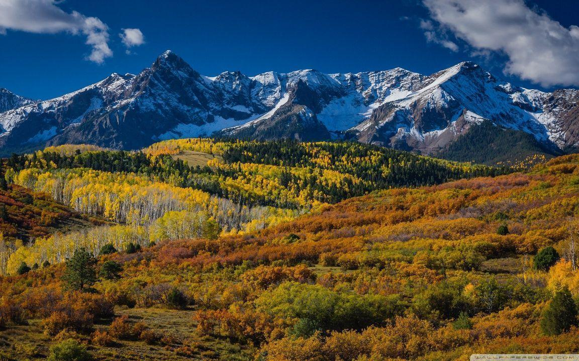 Mountain Landscape In Aspen, Colorado HD desktop wallpapers : High