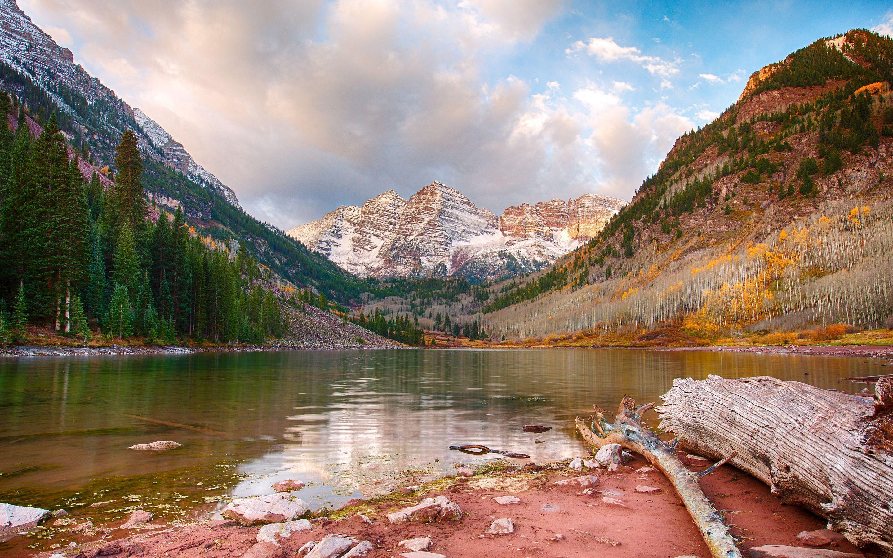 Maroon Lake Aspen Colorado Wallpapers