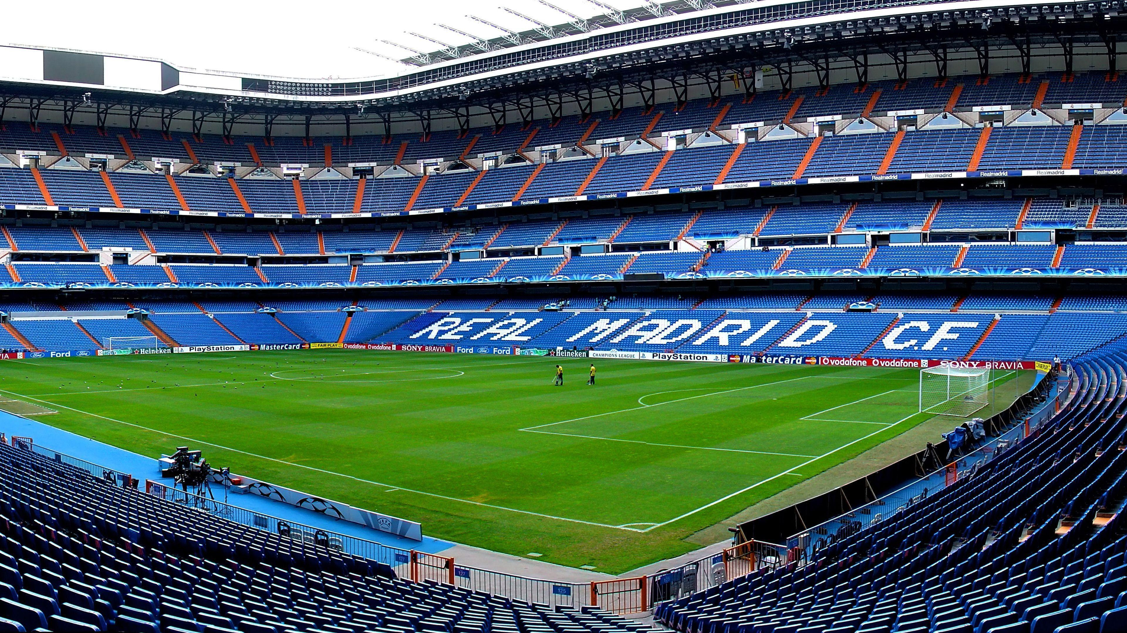 Real Madrid Santiago Bernabeu stadium wallpaper | YouBioit.com