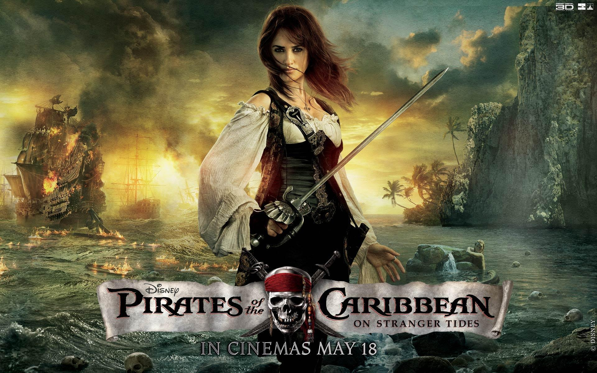 Penelope Cruz Pirates Of The Caribbean Wallpapers