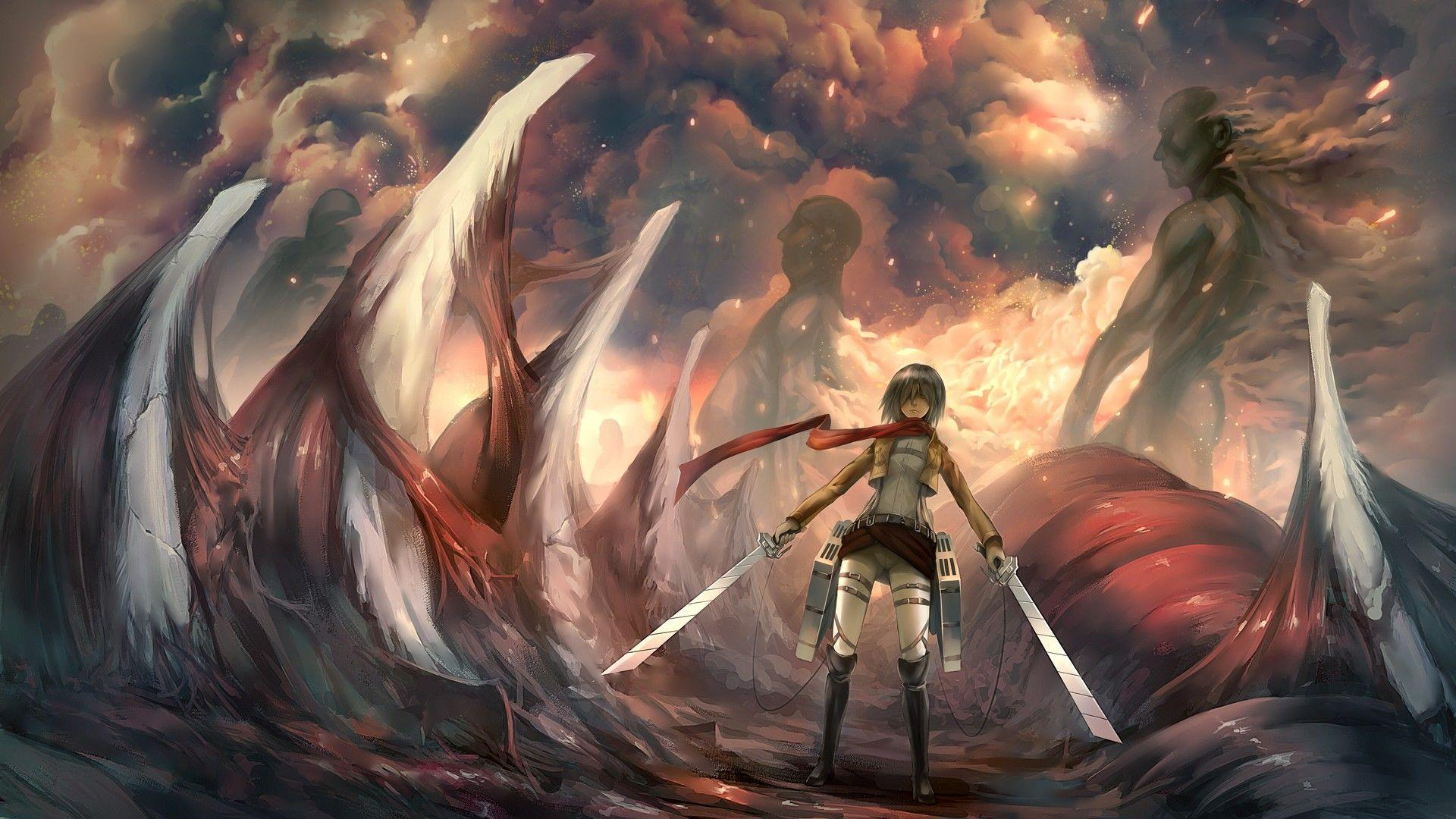 Attack On Titan Wallpapers Wallpaper Cave