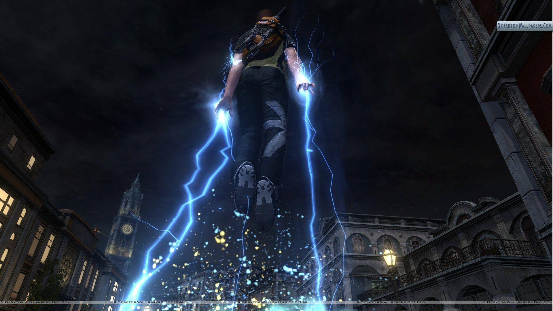 inFAMOUS 2 – Flying With Electricity Wallpapers