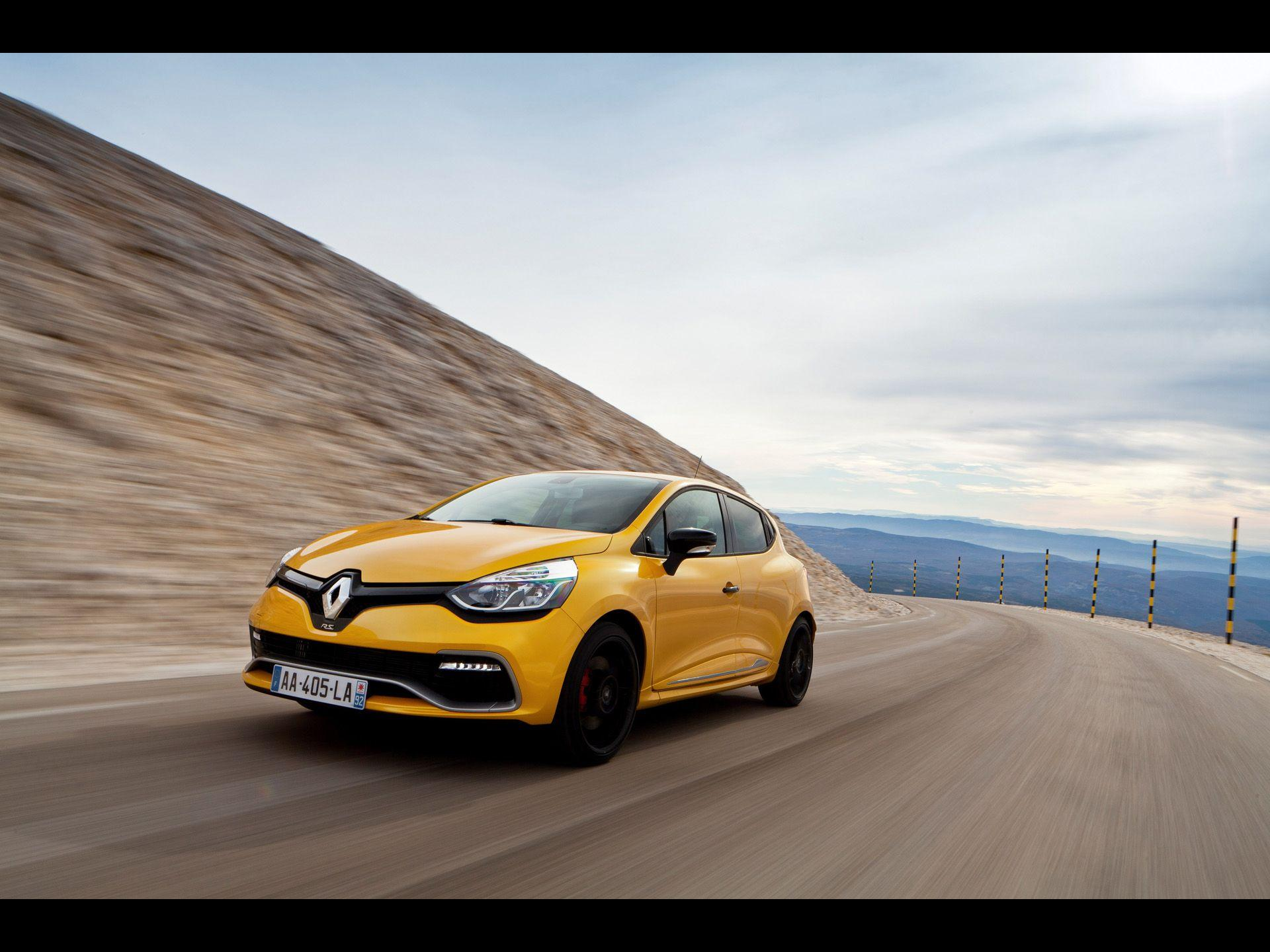 2013 Renault Clio RS 200 EDC Motion Rear wallpapers