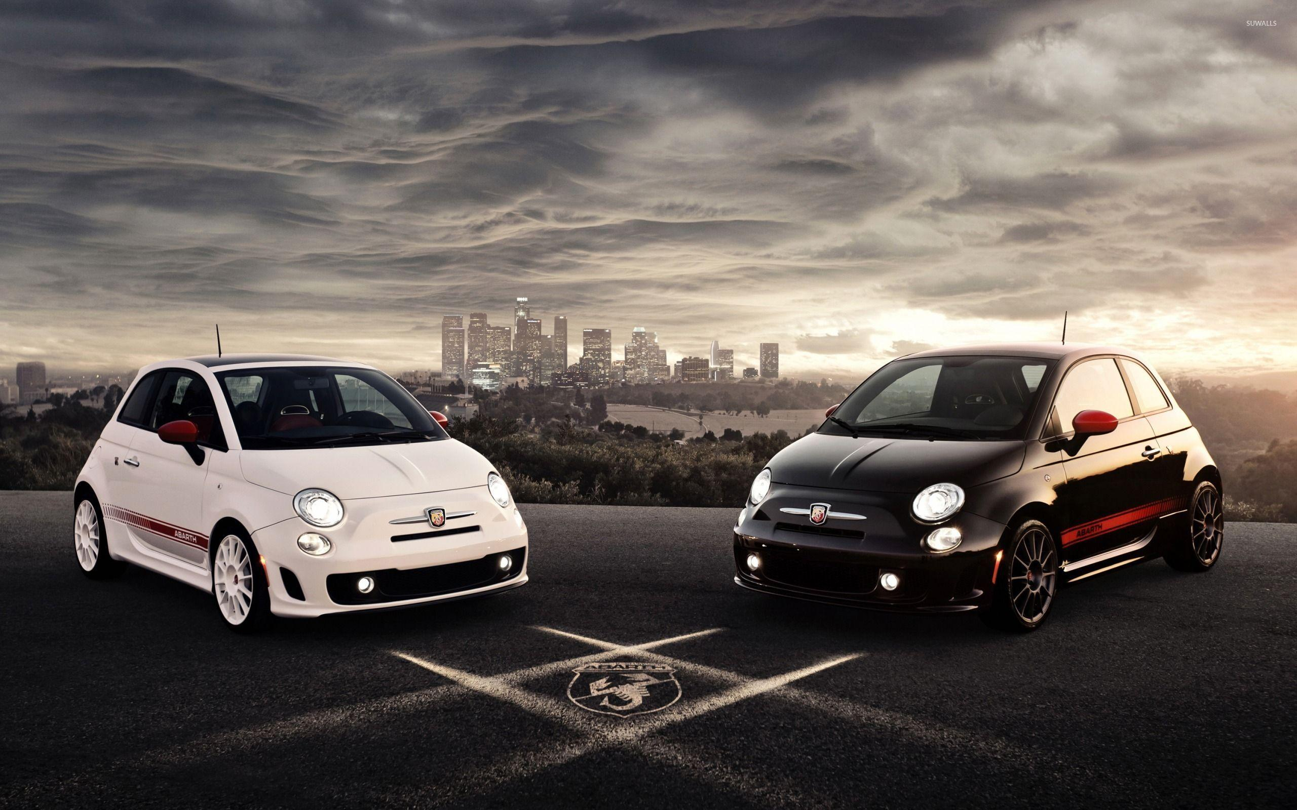 Abarth Fiat 500 wallpaper - Car wallpapers - #46773