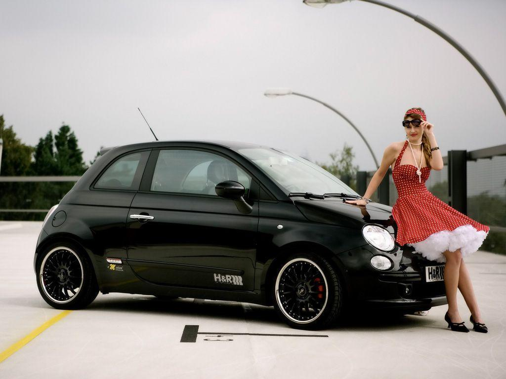 New Cars & Bikes: Fiat 500 Wallpapers