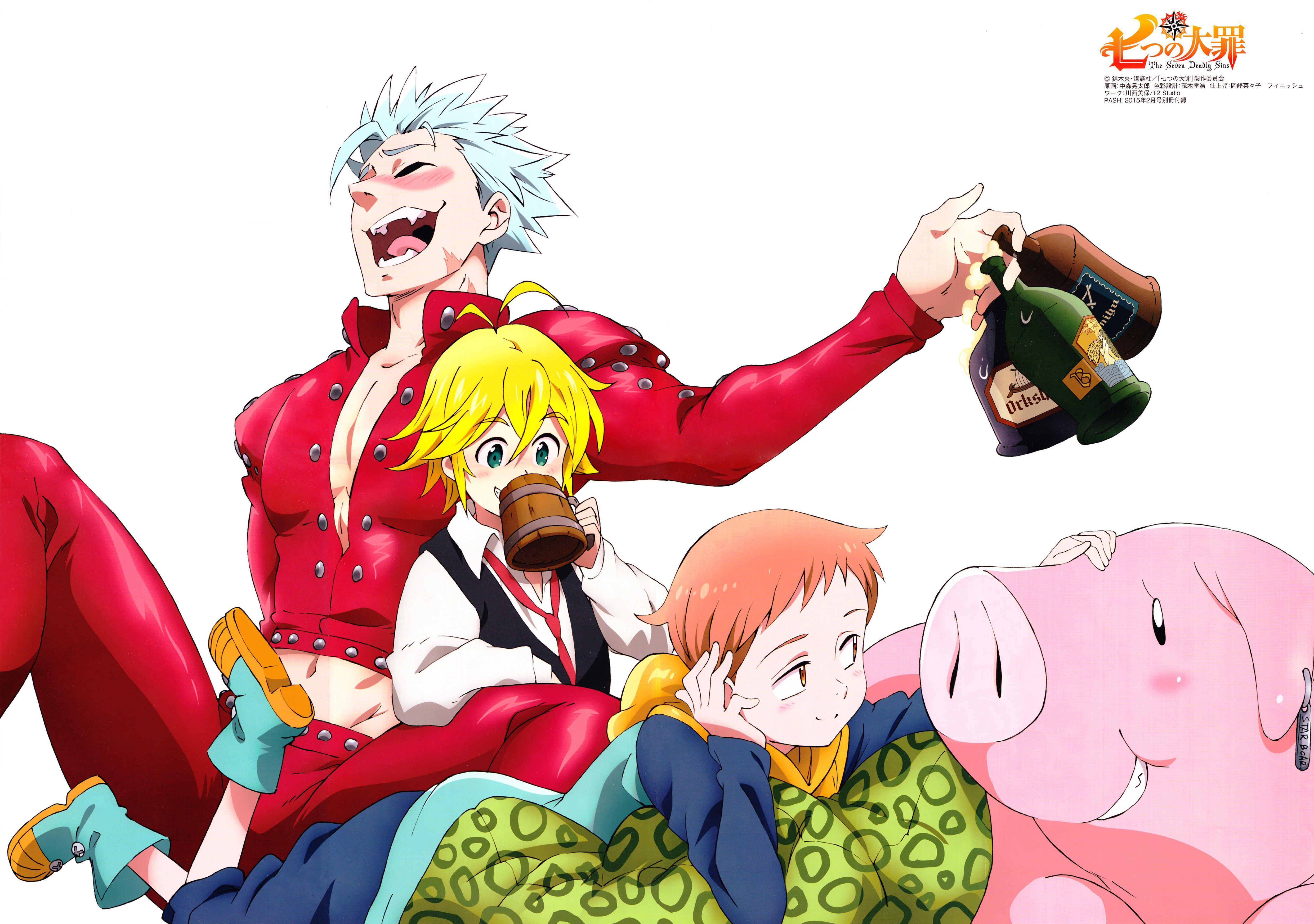 26 The Seven Deadly Sins HD Wallpapers