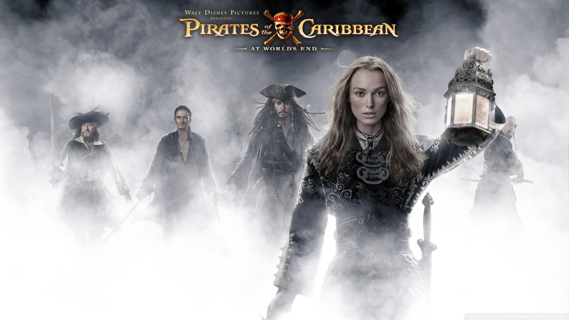 Keira Knightley Pirates Of The Caribbean At World&End HD desktop