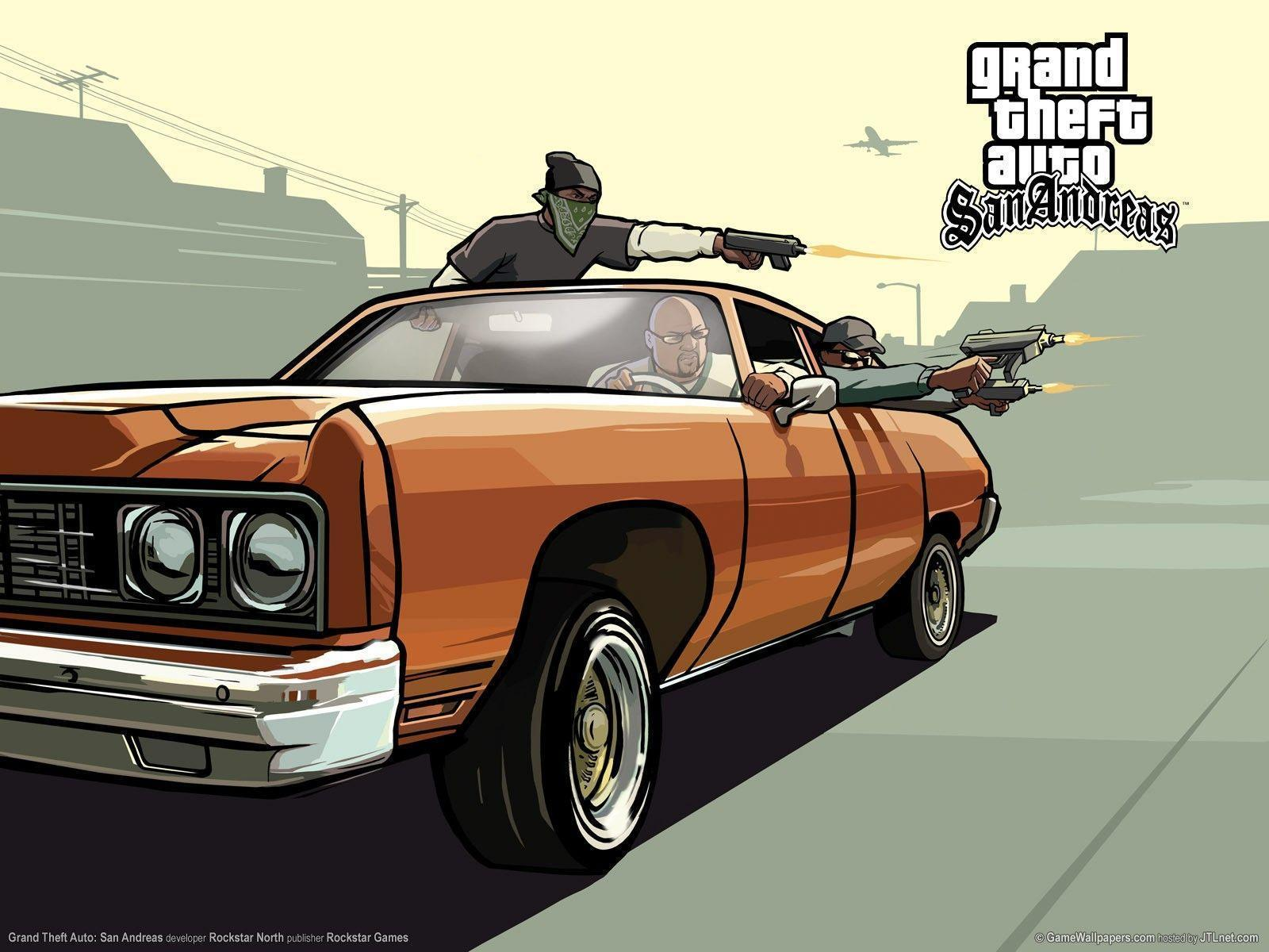 13 Grand Theft Auto: San Andreas HD Wallpapers