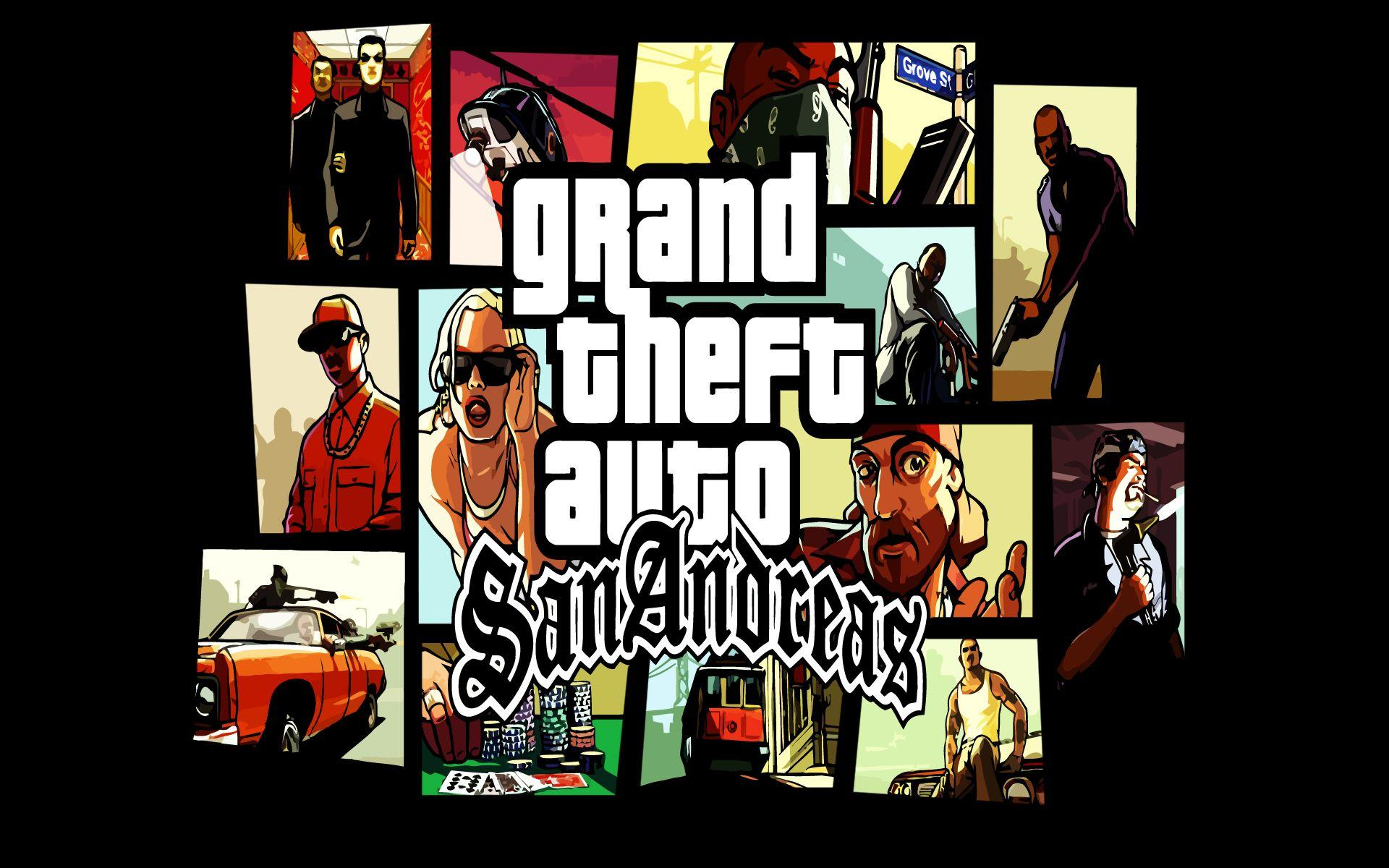 Grand Theft Auto: San Andreas Wallpapers - Wallpaper Cave