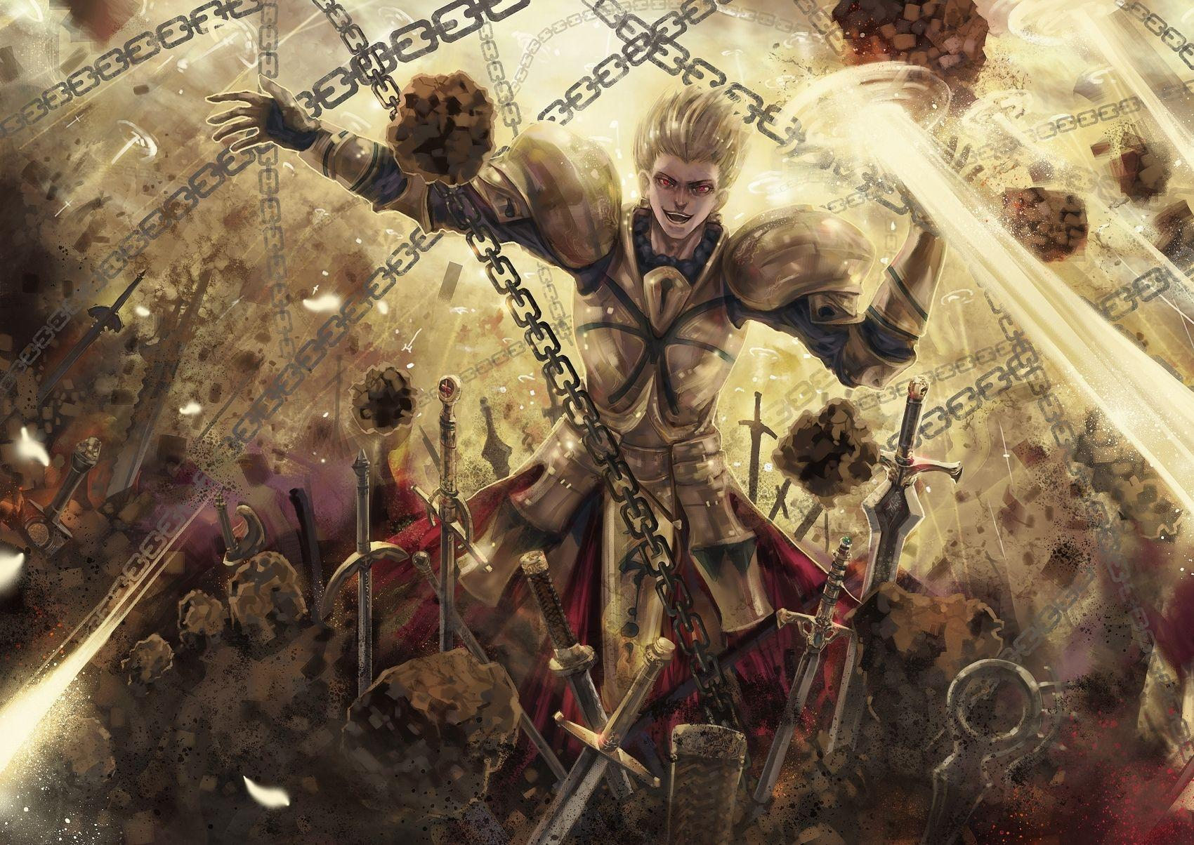 54 Gilgamesh (Fate Series) HD Wallpapers | Backgrounds - Wallpaper ...