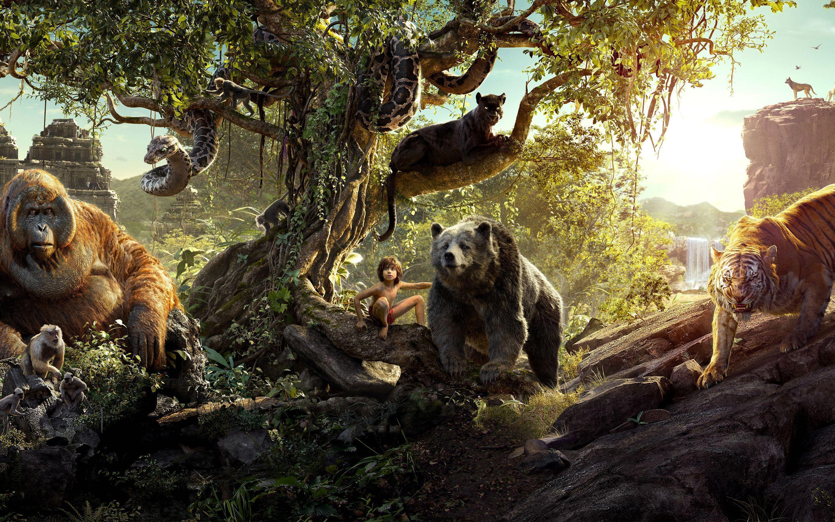 the jungle book wallpapers - wallpaper cave