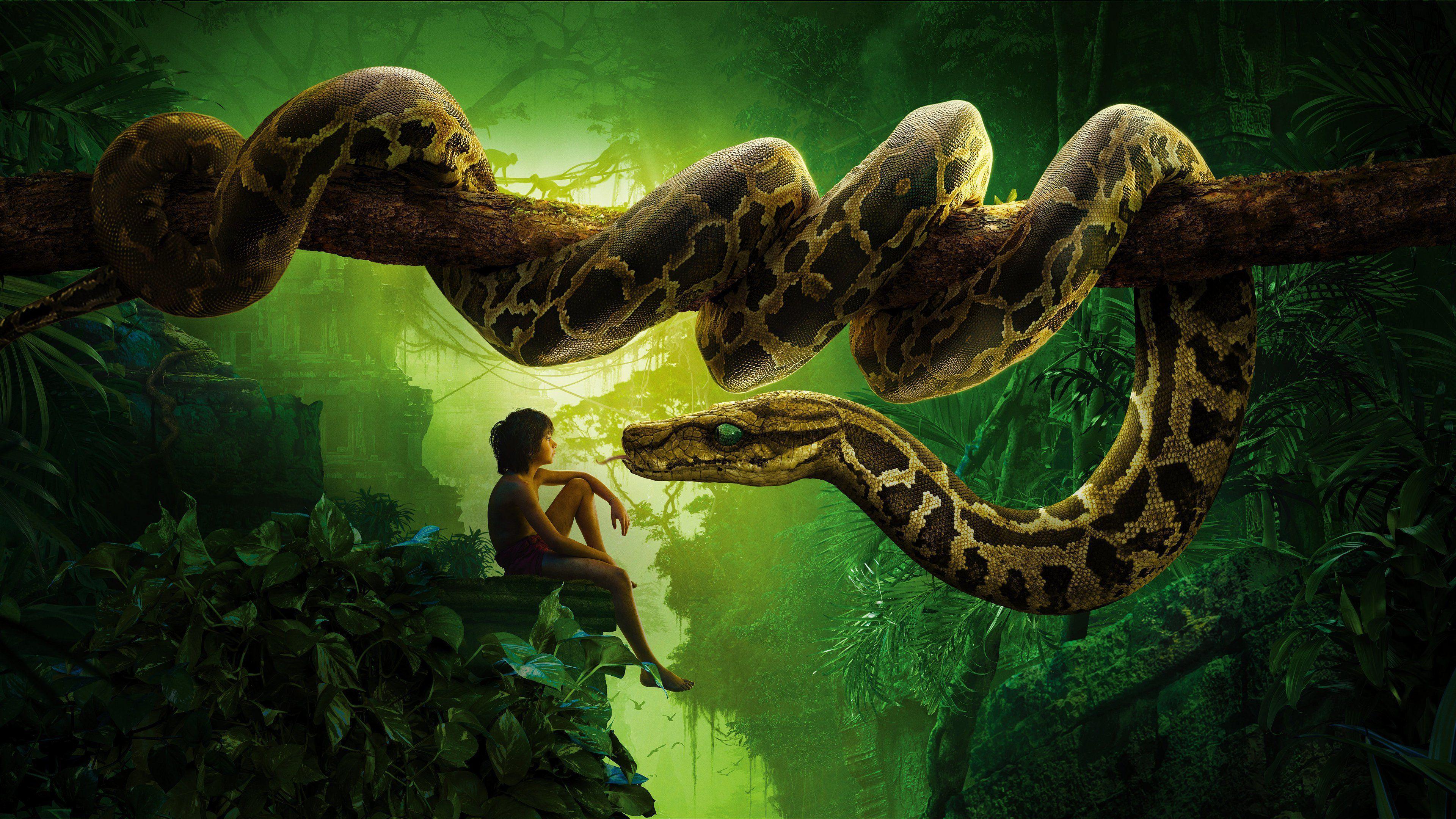 モーグリとヘビ
