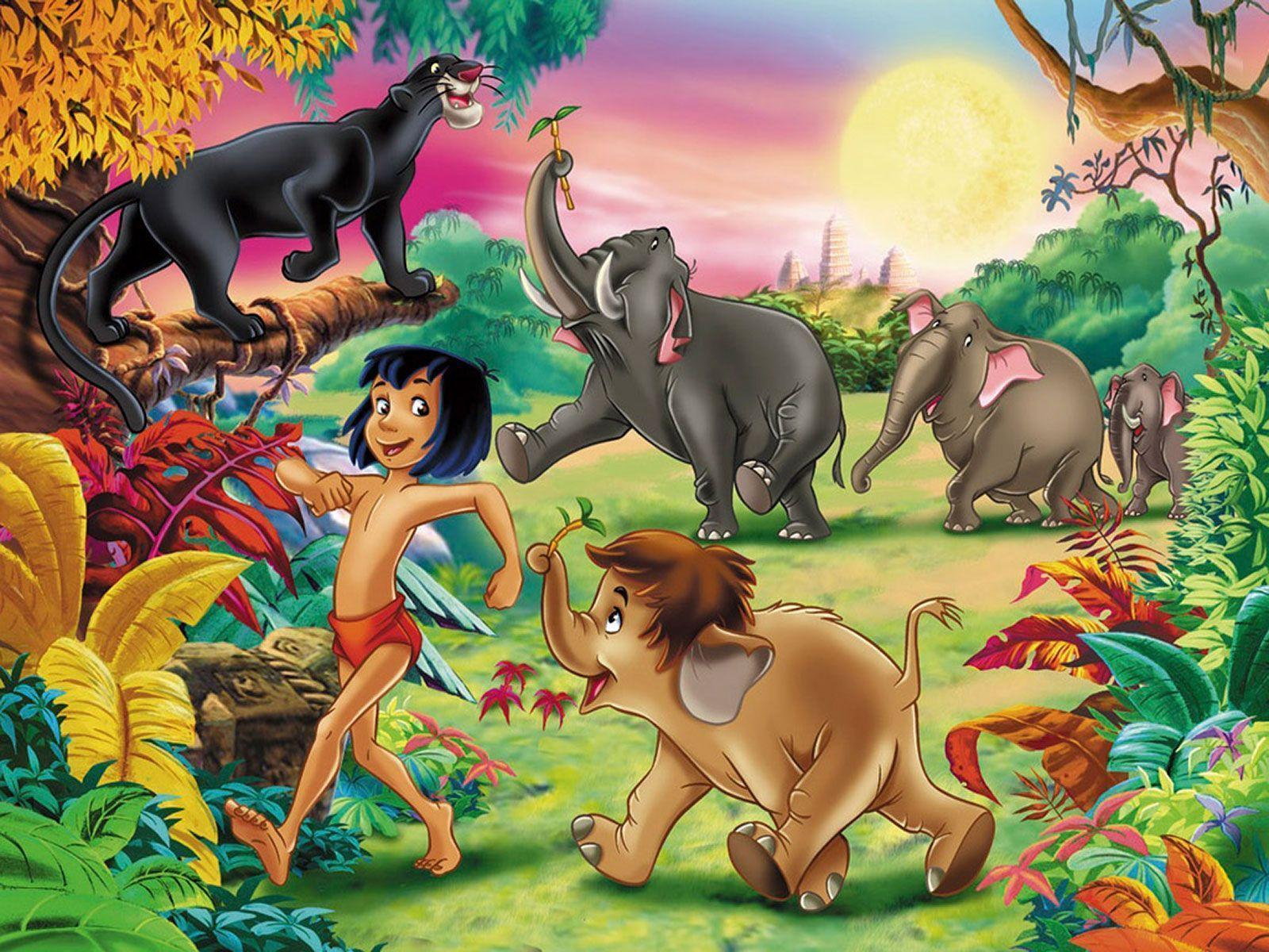 動物たちとモーグリ